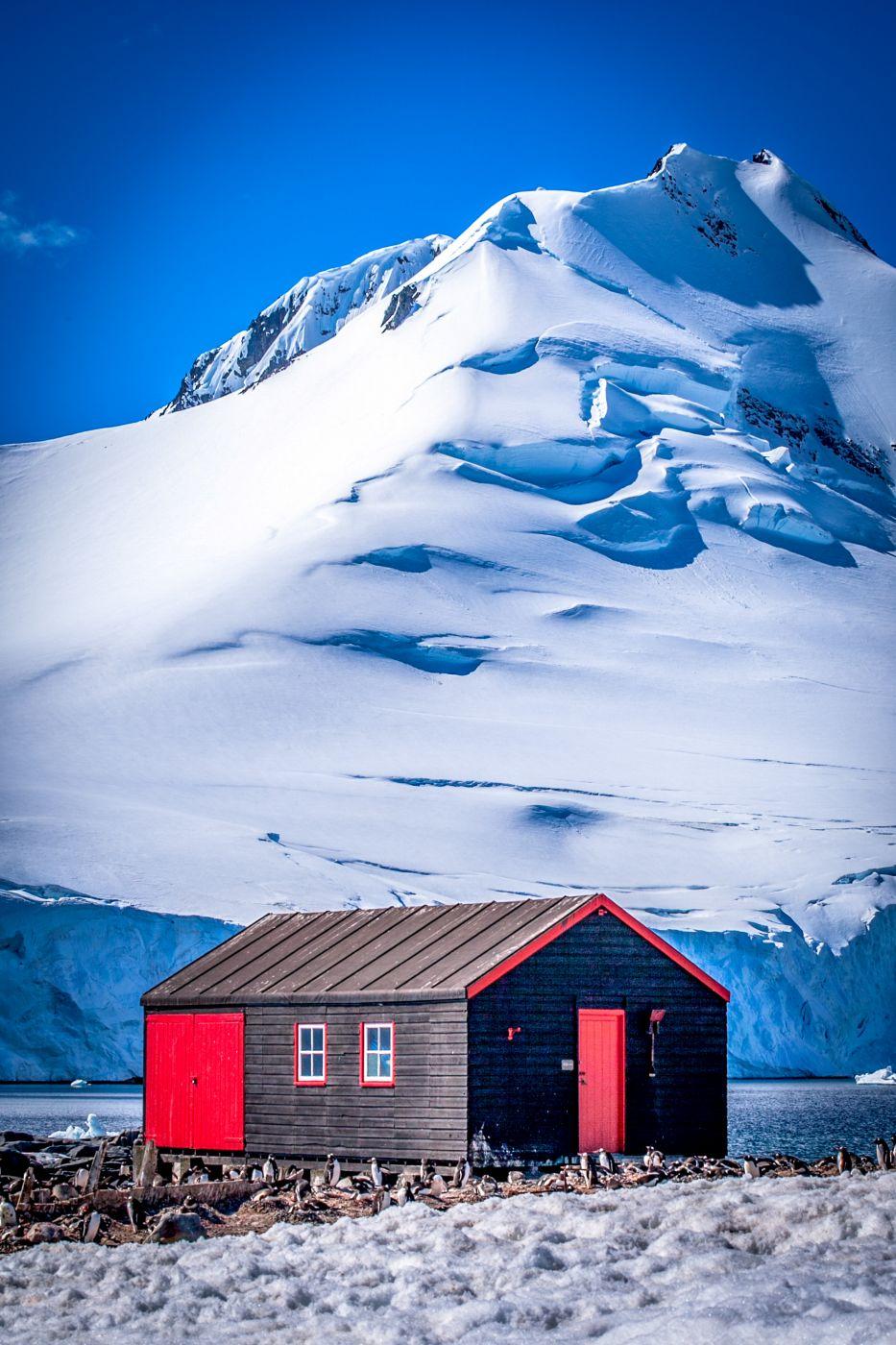 Hut at Port Lockroy, Antarctica, Antarctica