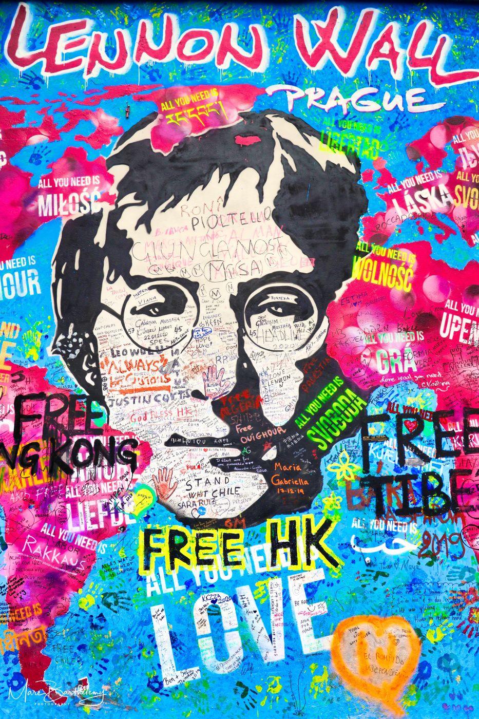 John Lennon Wall, Czech Republic