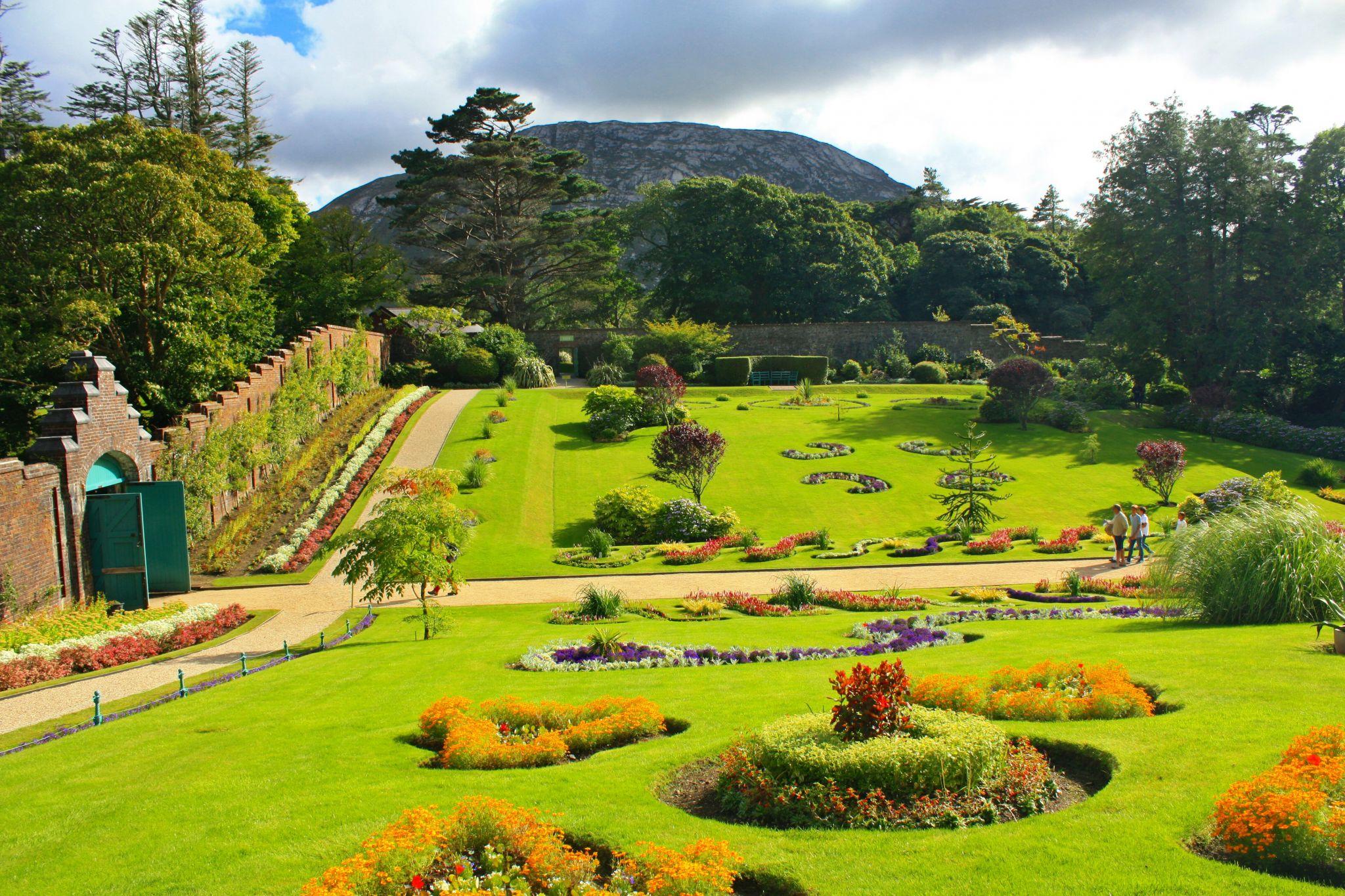 Kylemore Abbey Walled Garden, Ireland