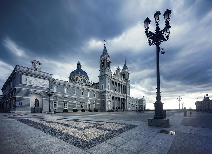 la Almudena Madrid, Spain