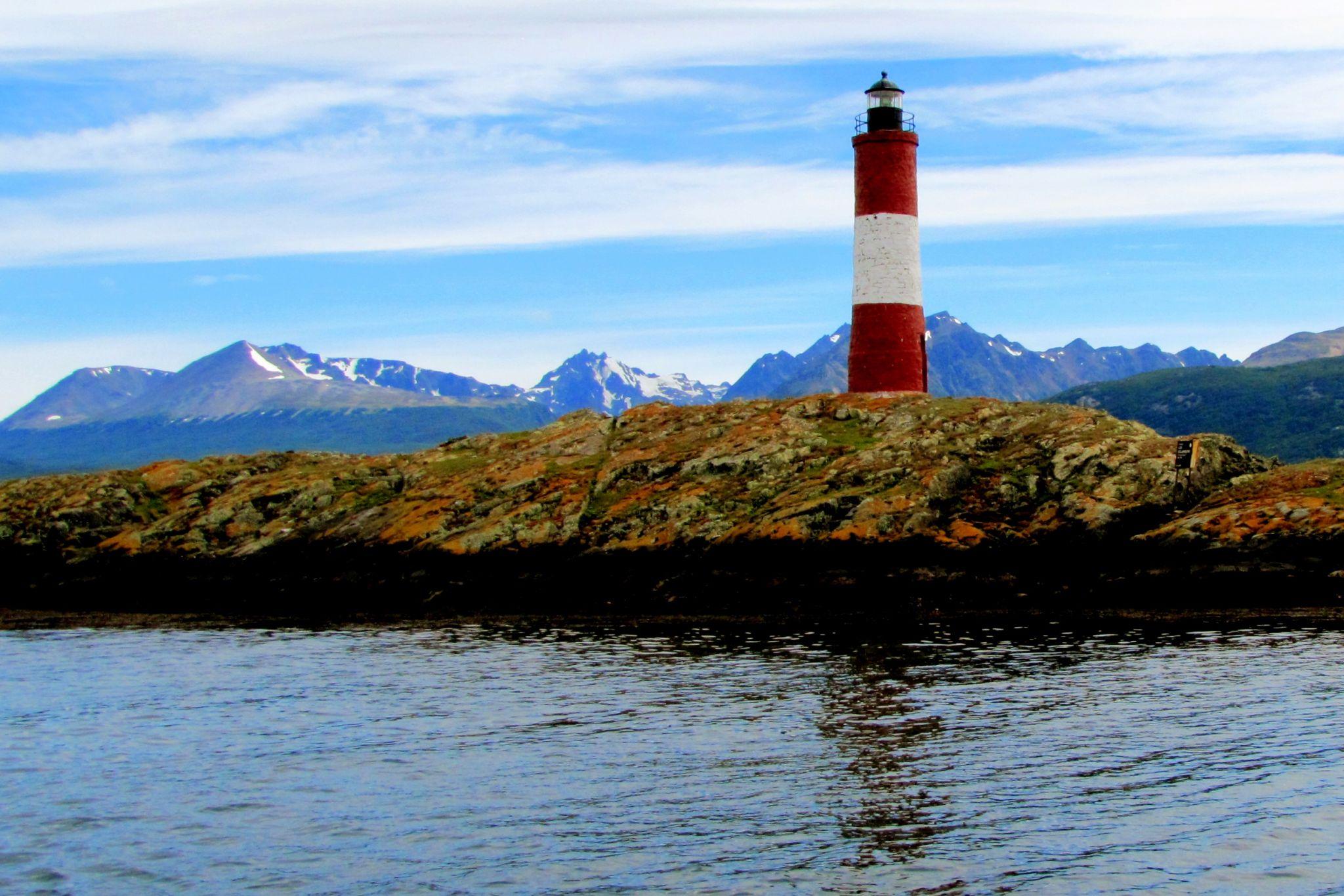 Les Éclaireurs Lighthouse, Ushuaia, Argentina