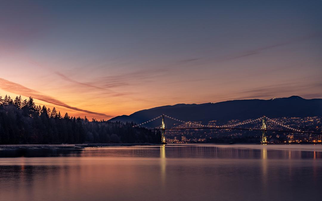 Lions Gate Bridge, Canada