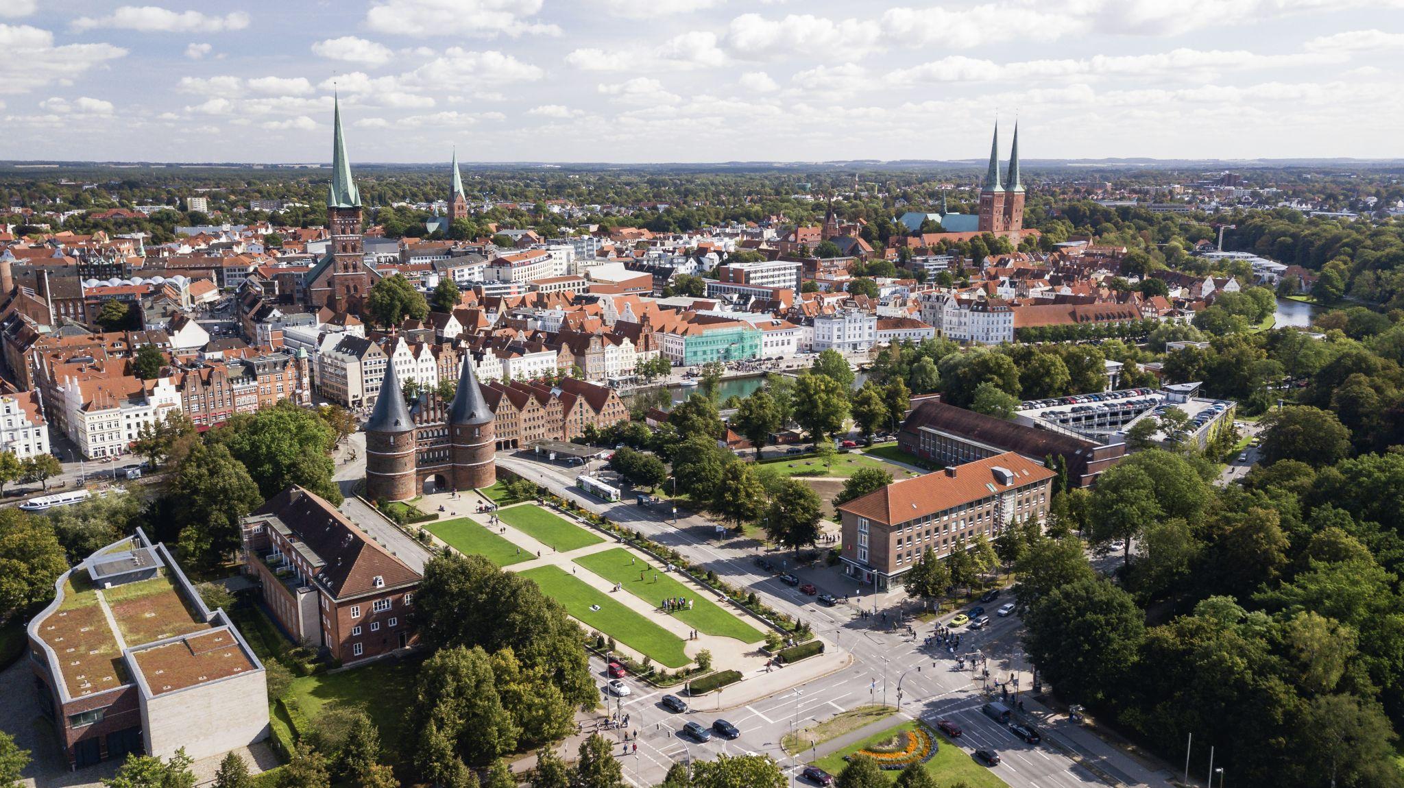 Lubeck gate, lubeck, Germany, Germany