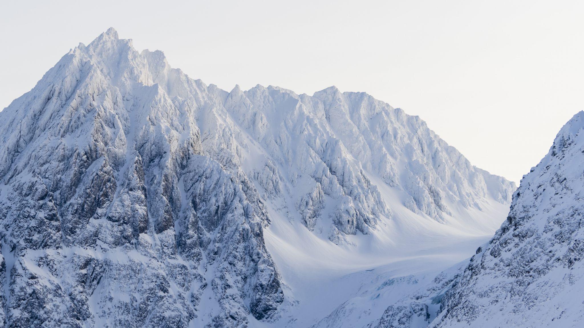 Lyngen Alps Mountain Ridge, Norway