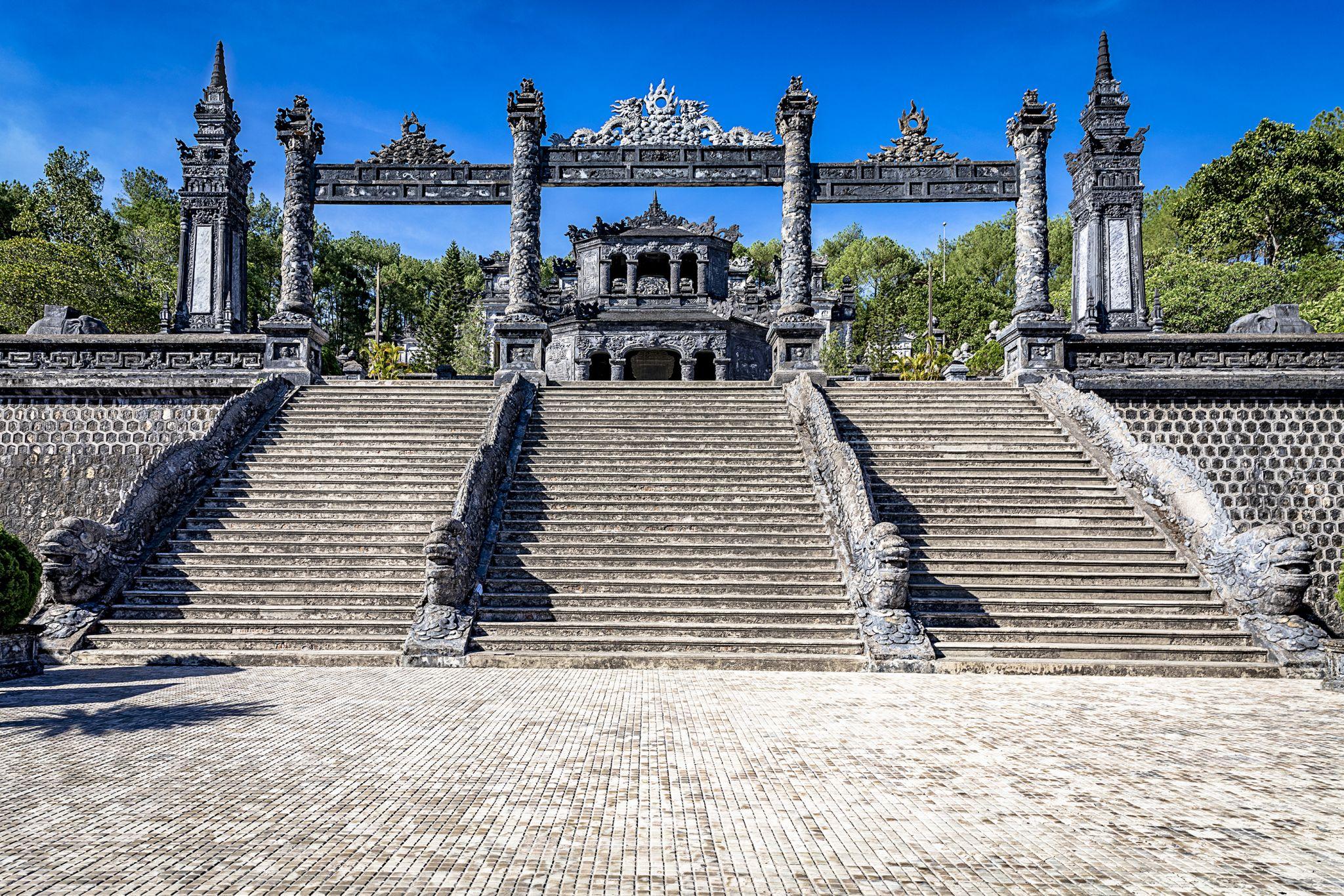 Mausoleum of Emperor Khai Dinh, Vietnam