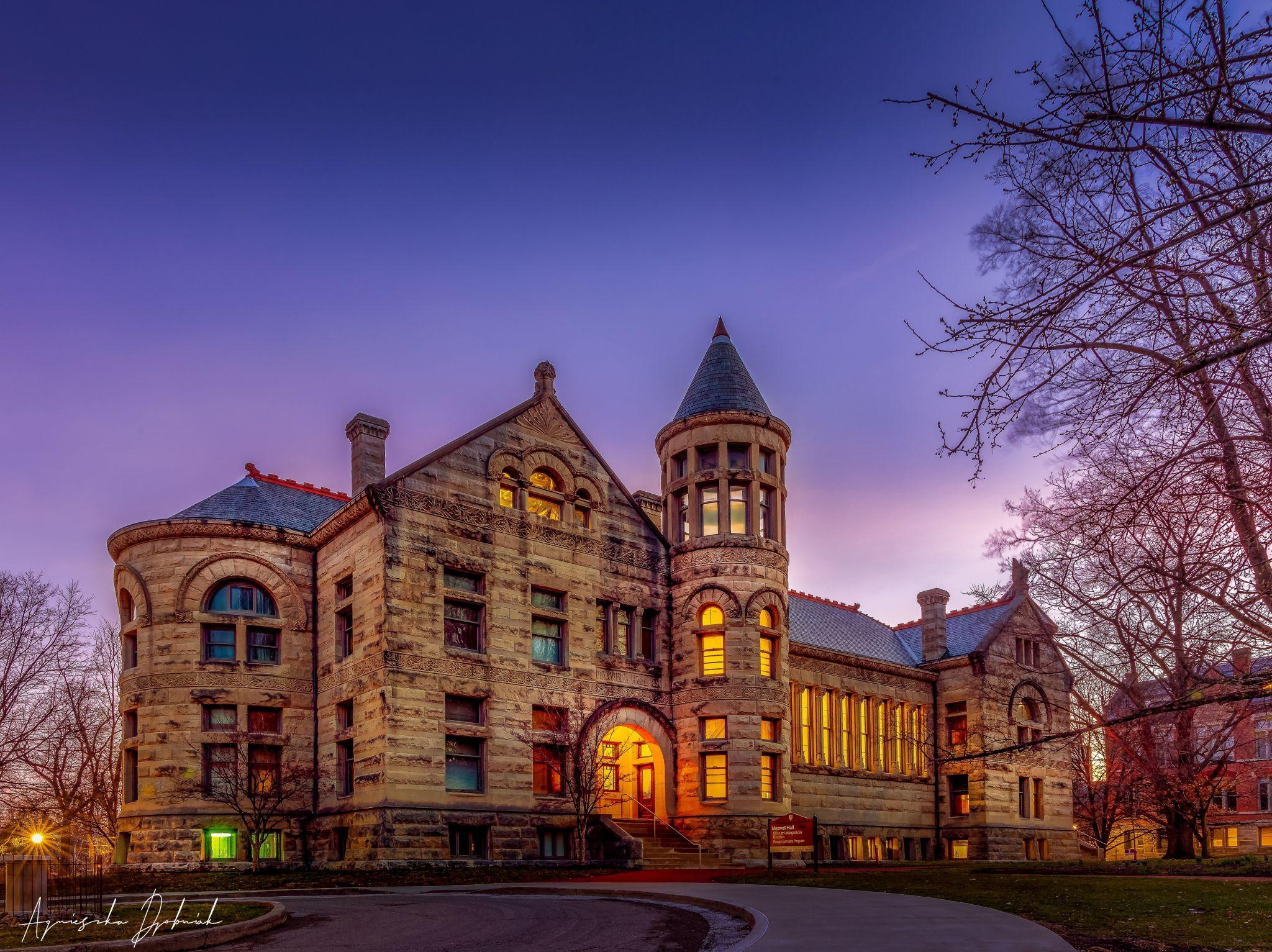 Maxwell Hall at Indiana University Bloomington USA, USA