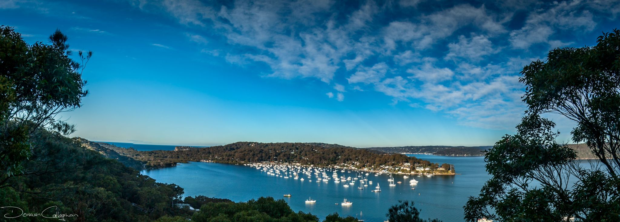 McKay reserve toward Careel Bay, Northern Beaches Sydney, Australia