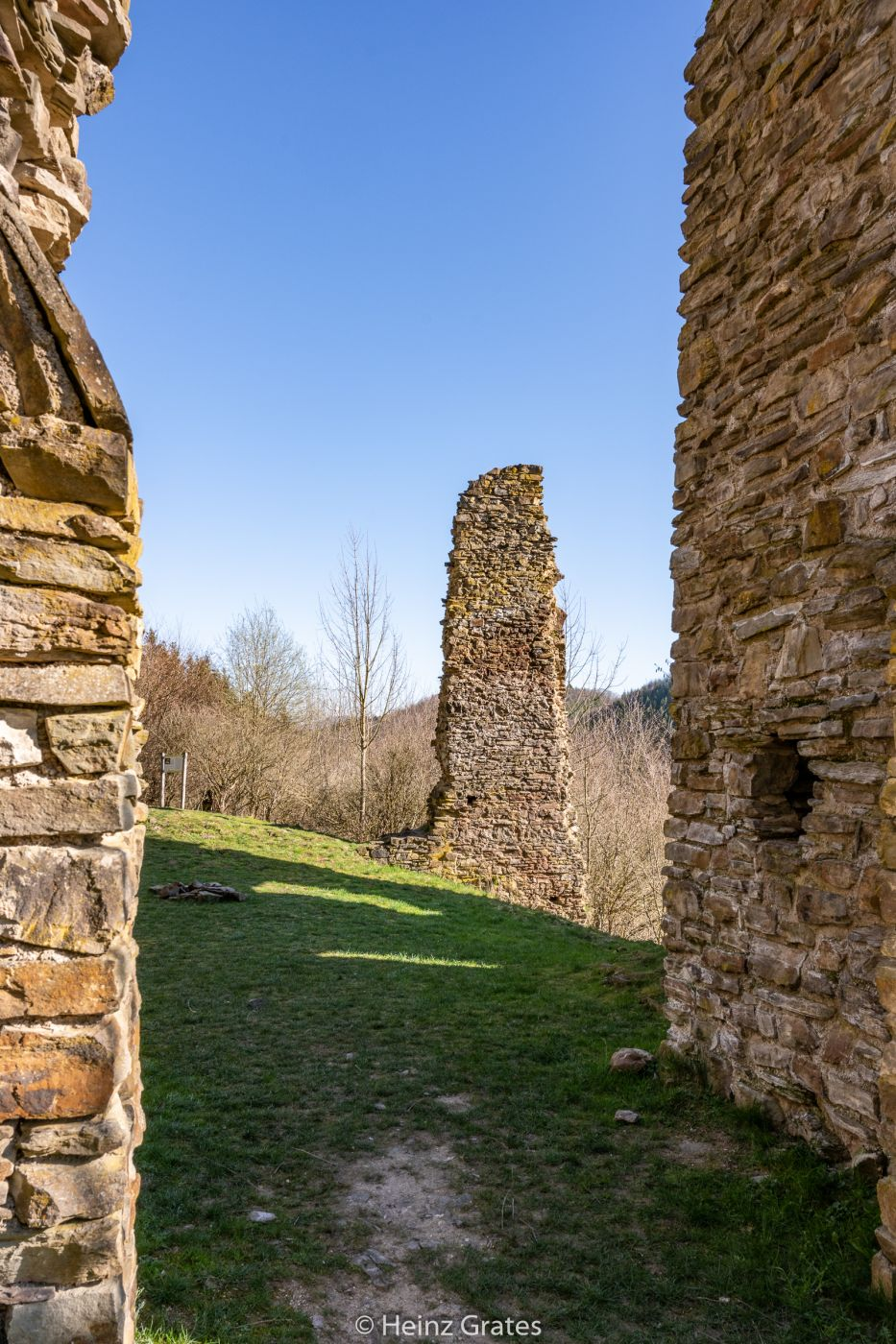 Neublankenheim Castle Ruin, Germany