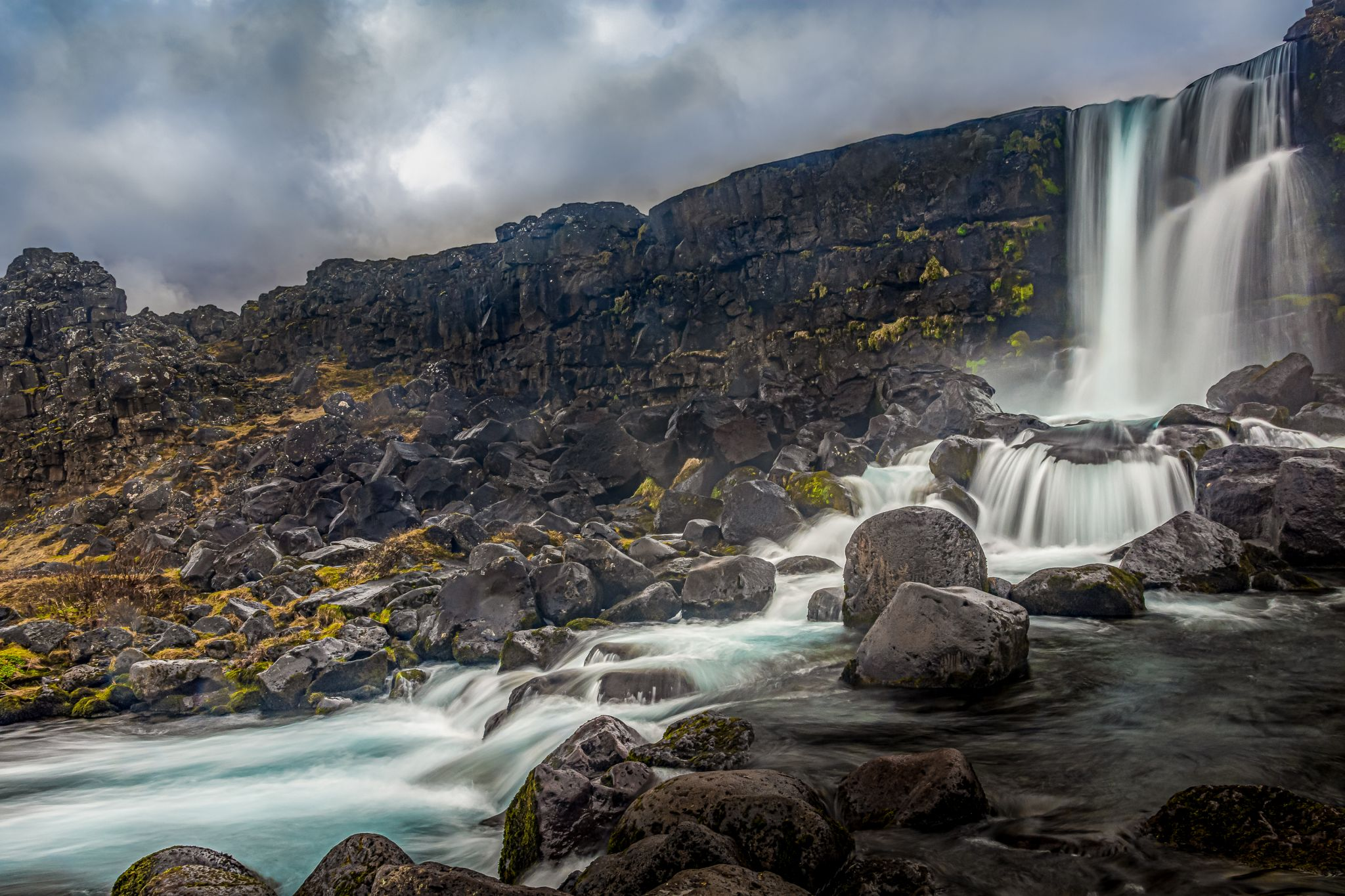 Oxararfoss, Iceland