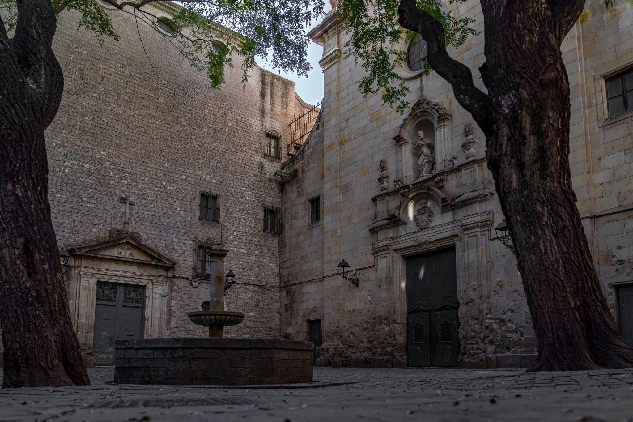 Plaza de San Felipe Neri, Barcelona, Spain