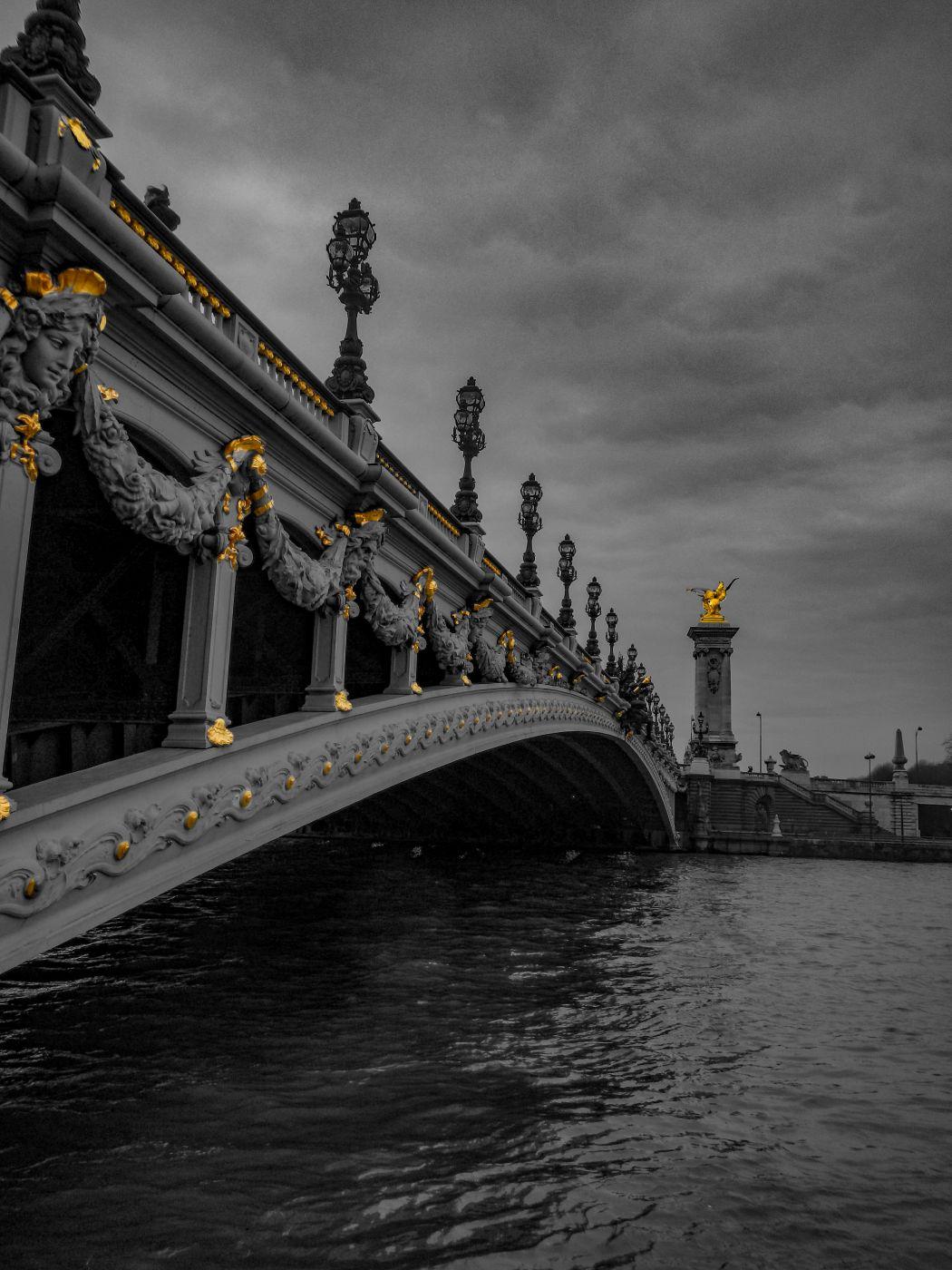 Pont Alexandre III Bridge Paris, France