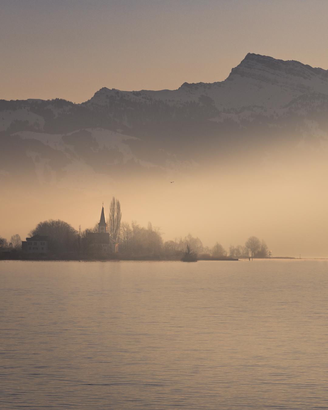 Rapperswil Holzbrücke, Switzerland