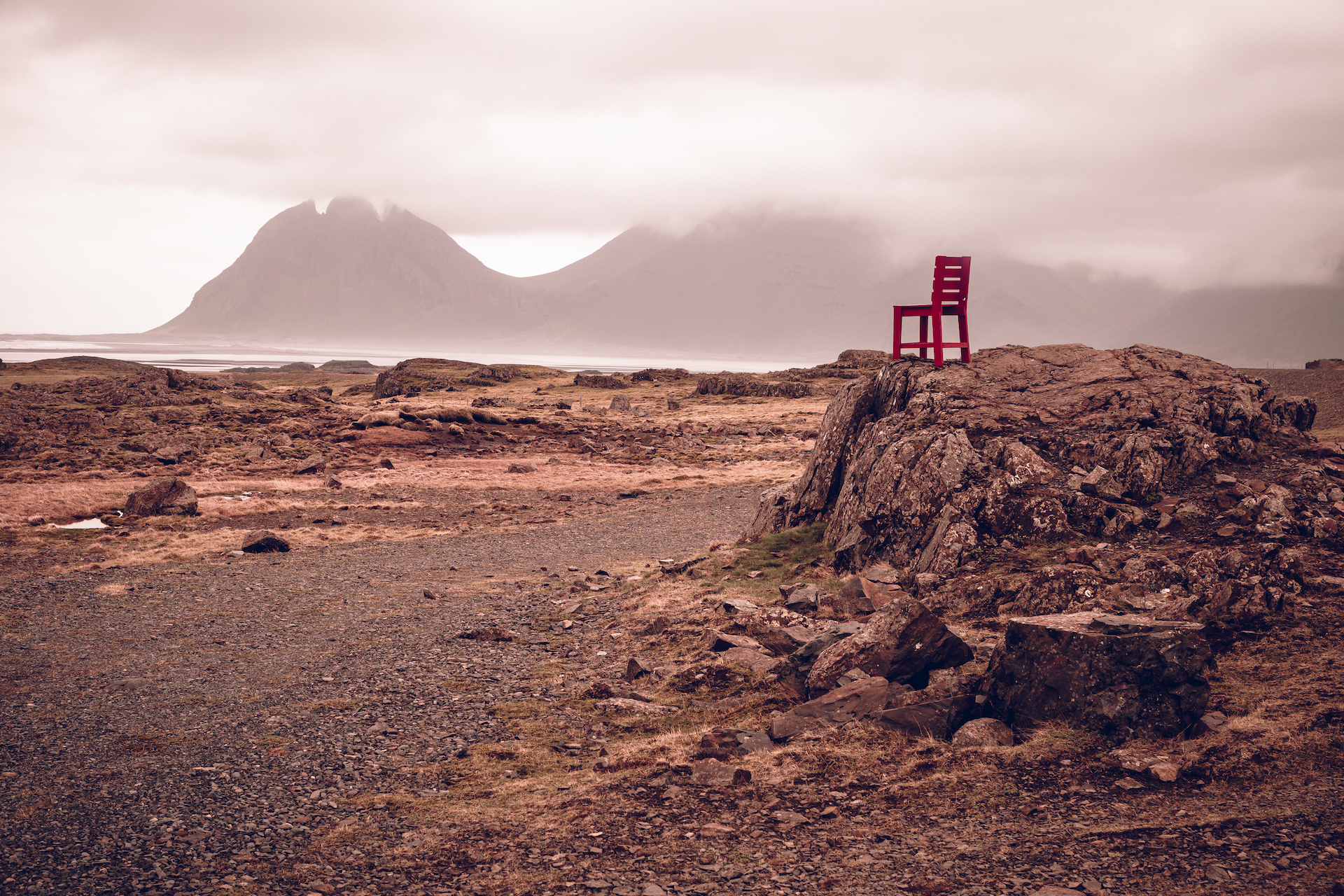 Red Chair, Iceland