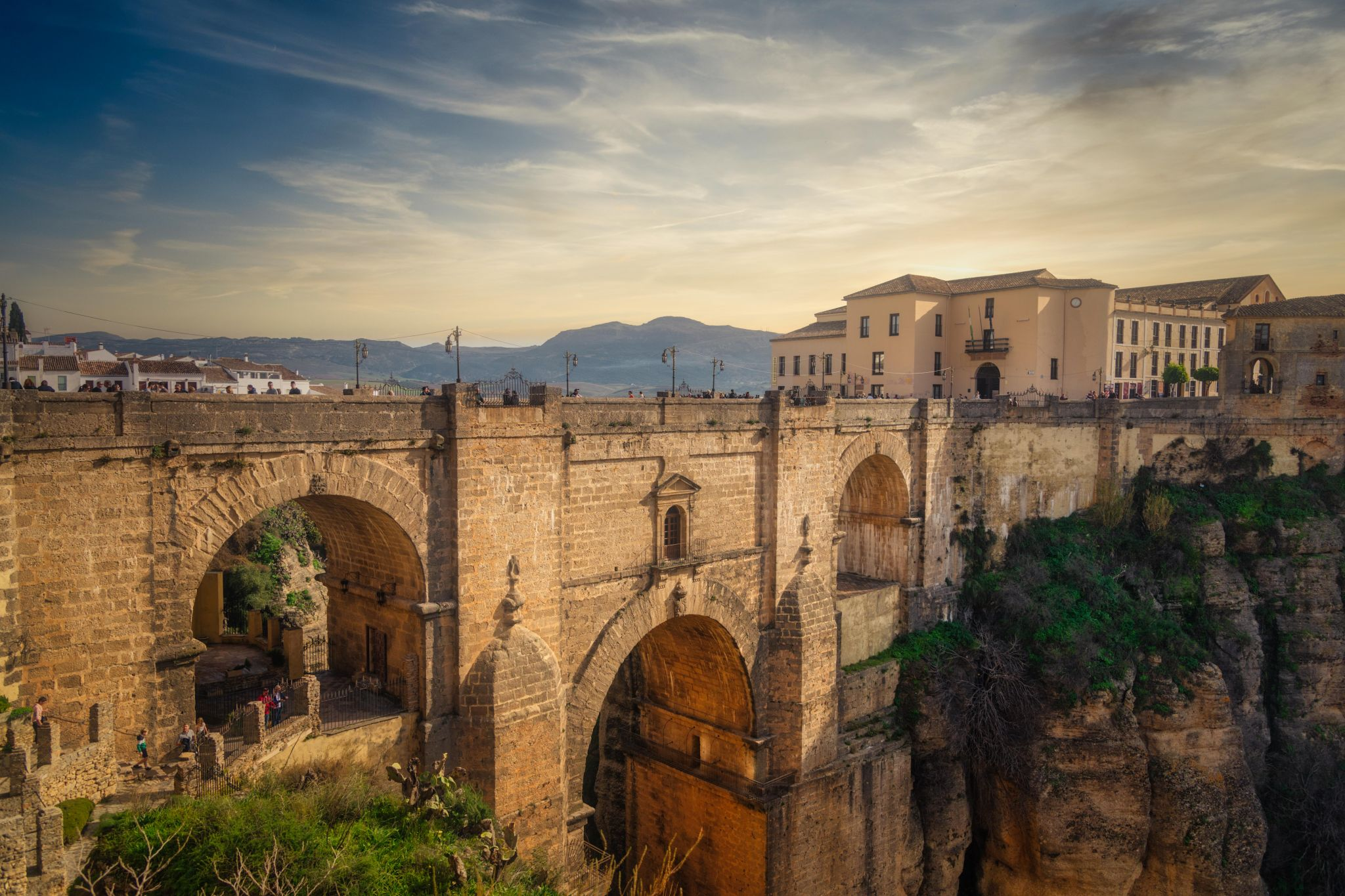 Ronda View Point, Spain
