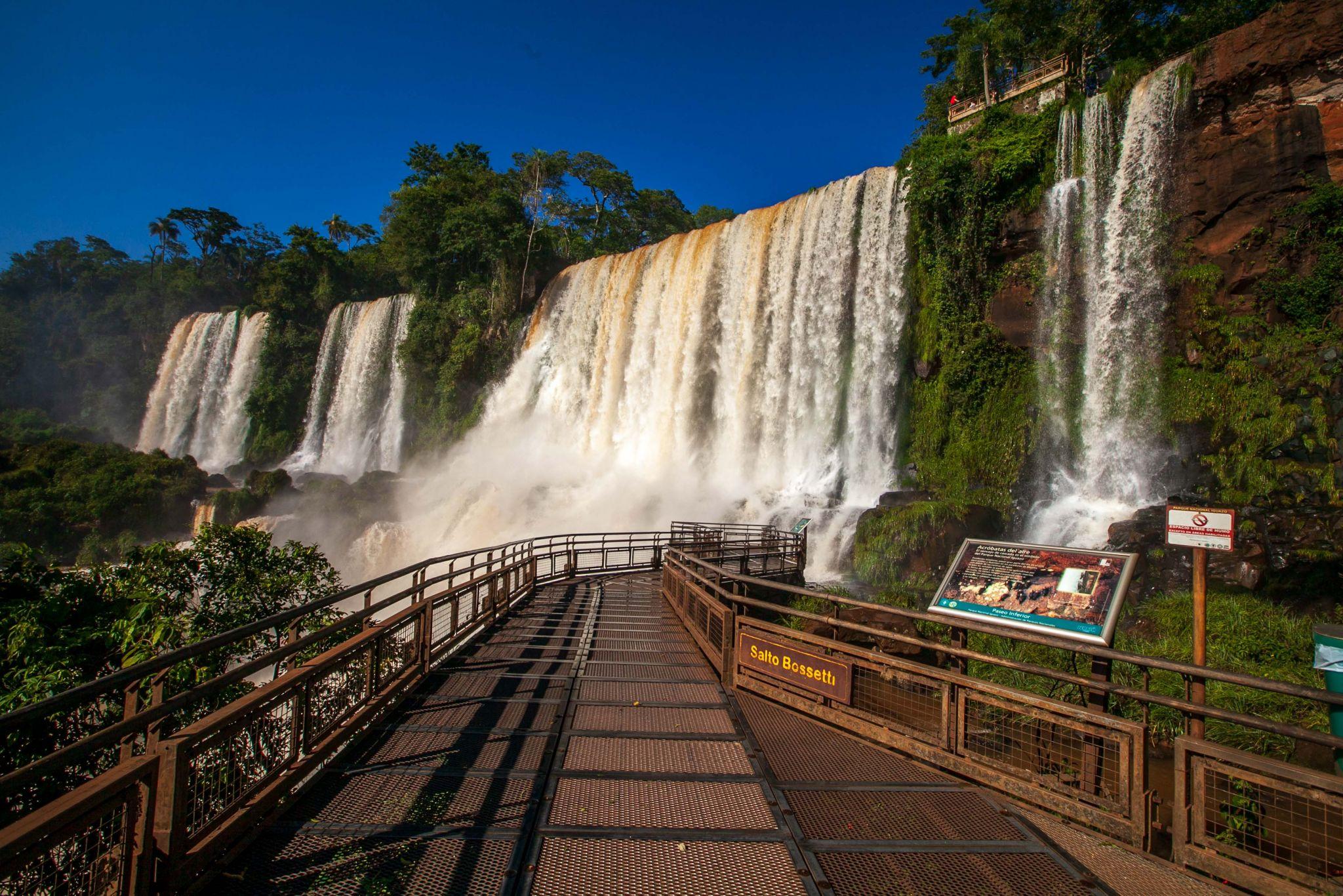 Salto Bossetti Iguazu Falls, Argentina