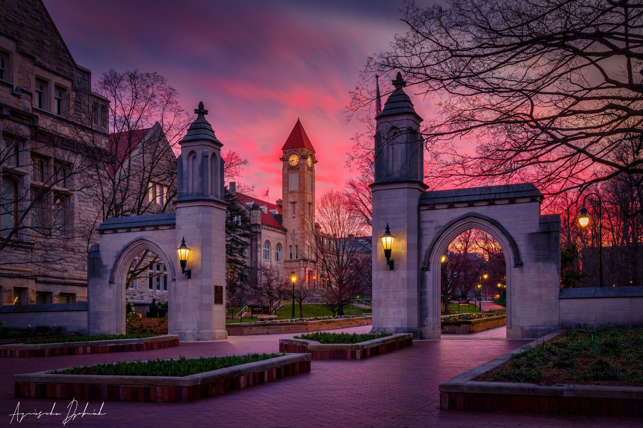 Sample Gates, Bloomington, IN USA, USA