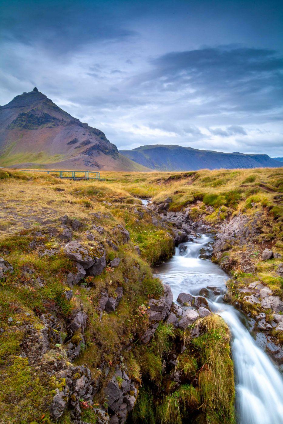 Snæfellsjökull Mountain from Dagverðará, Iceland