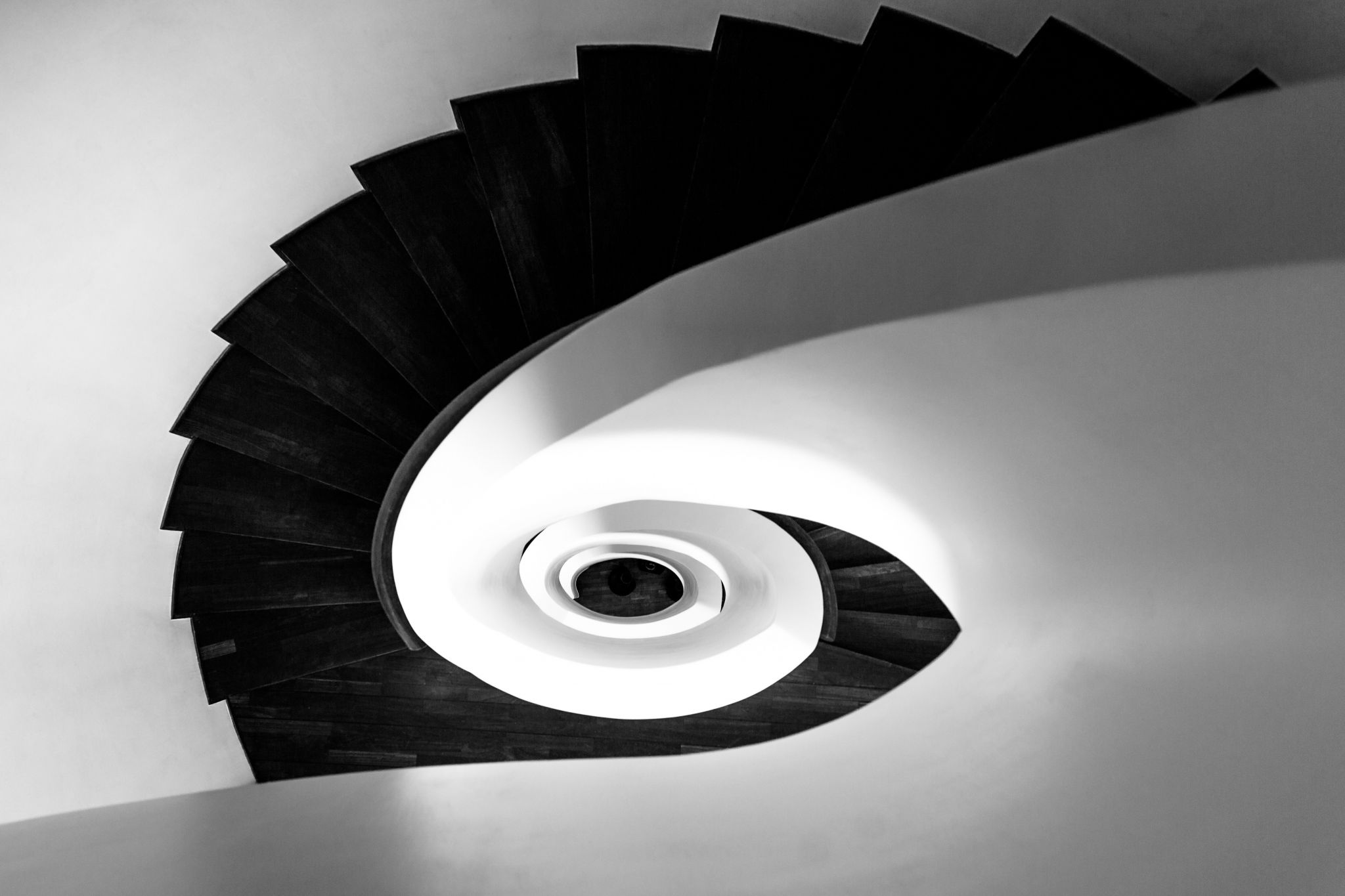 Spiral Staircase @Side Design Hotel/Hamburg, Germany