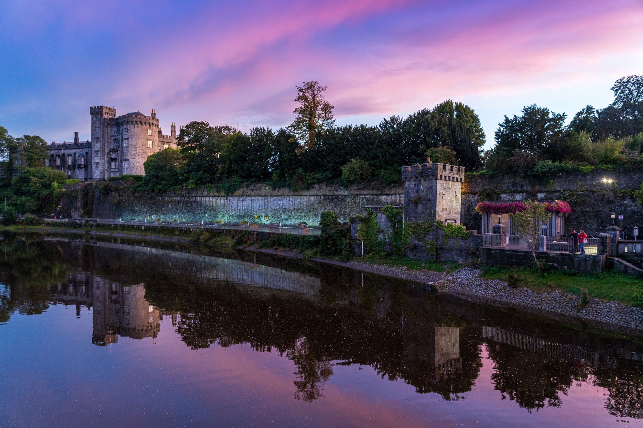 St John's Bridge/Kilkenny Castle, Ireland