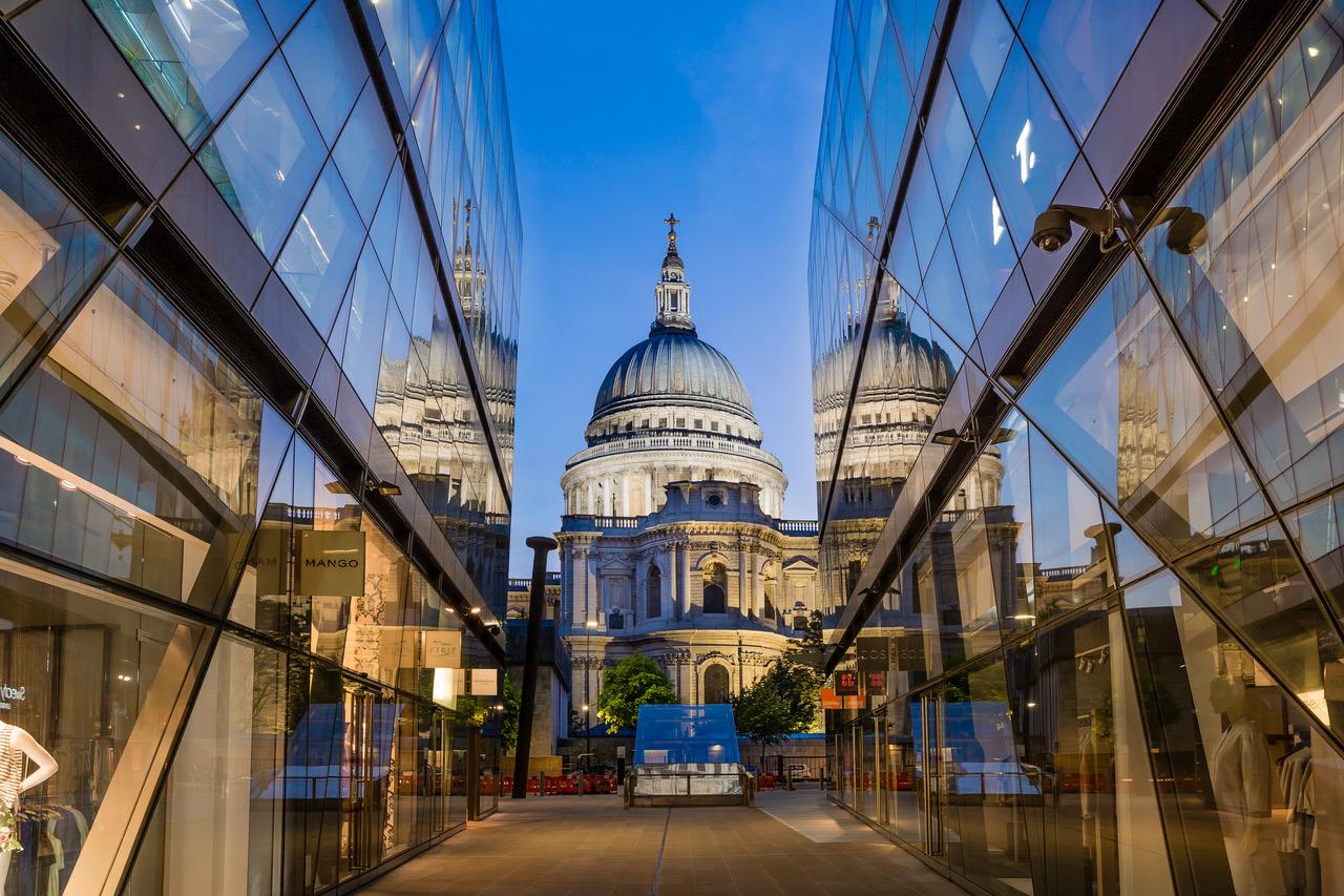 St Paul's Cathedral, London UK, United Kingdom