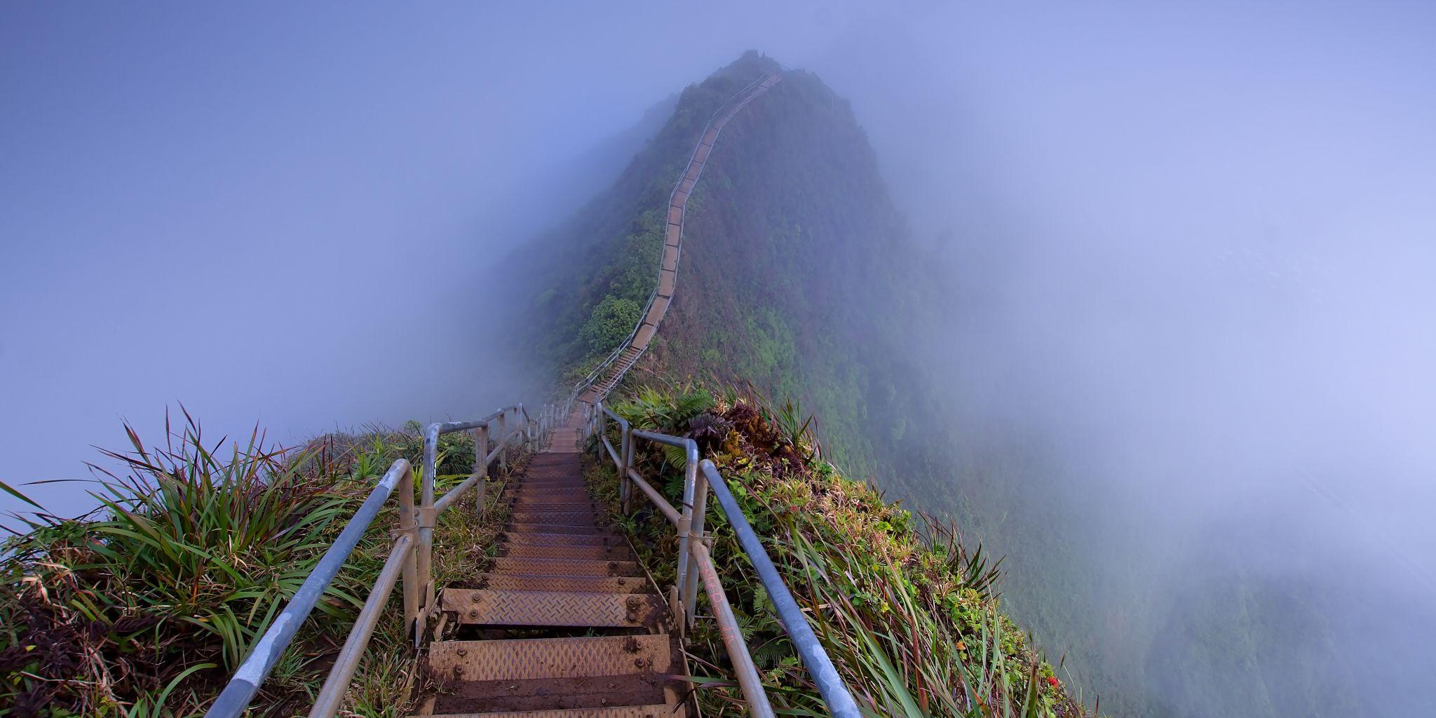 Stairway to Heaven (Haiku Stairs), USA
