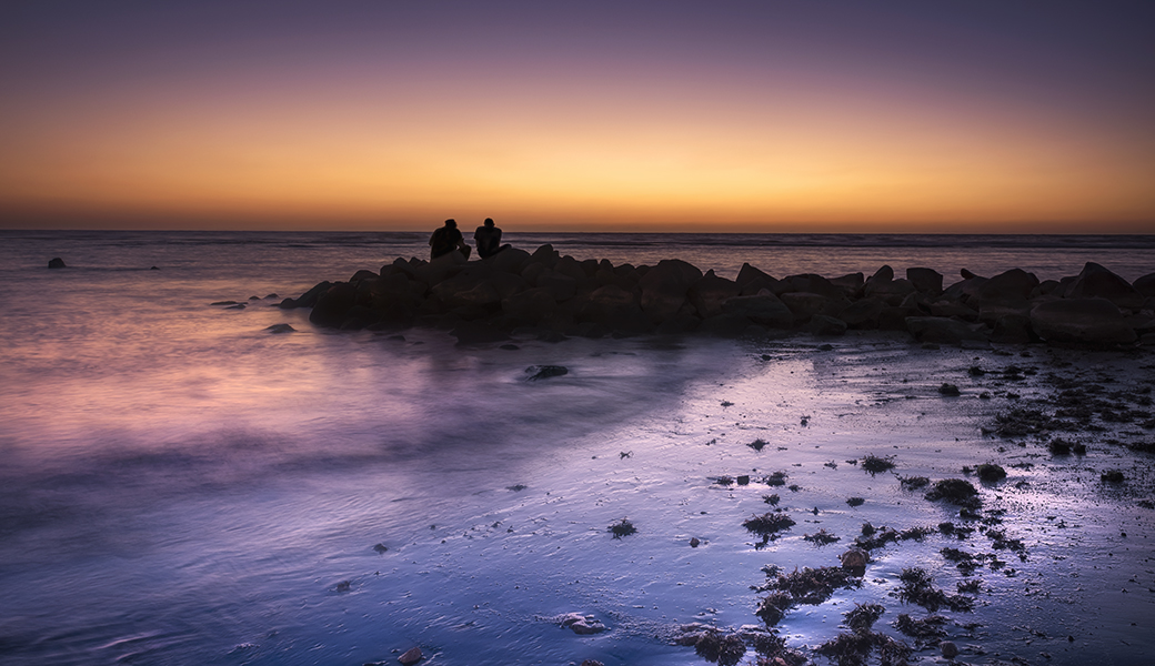 Stone Pier north of Jeddah, Red Sea, Saudi Arabia