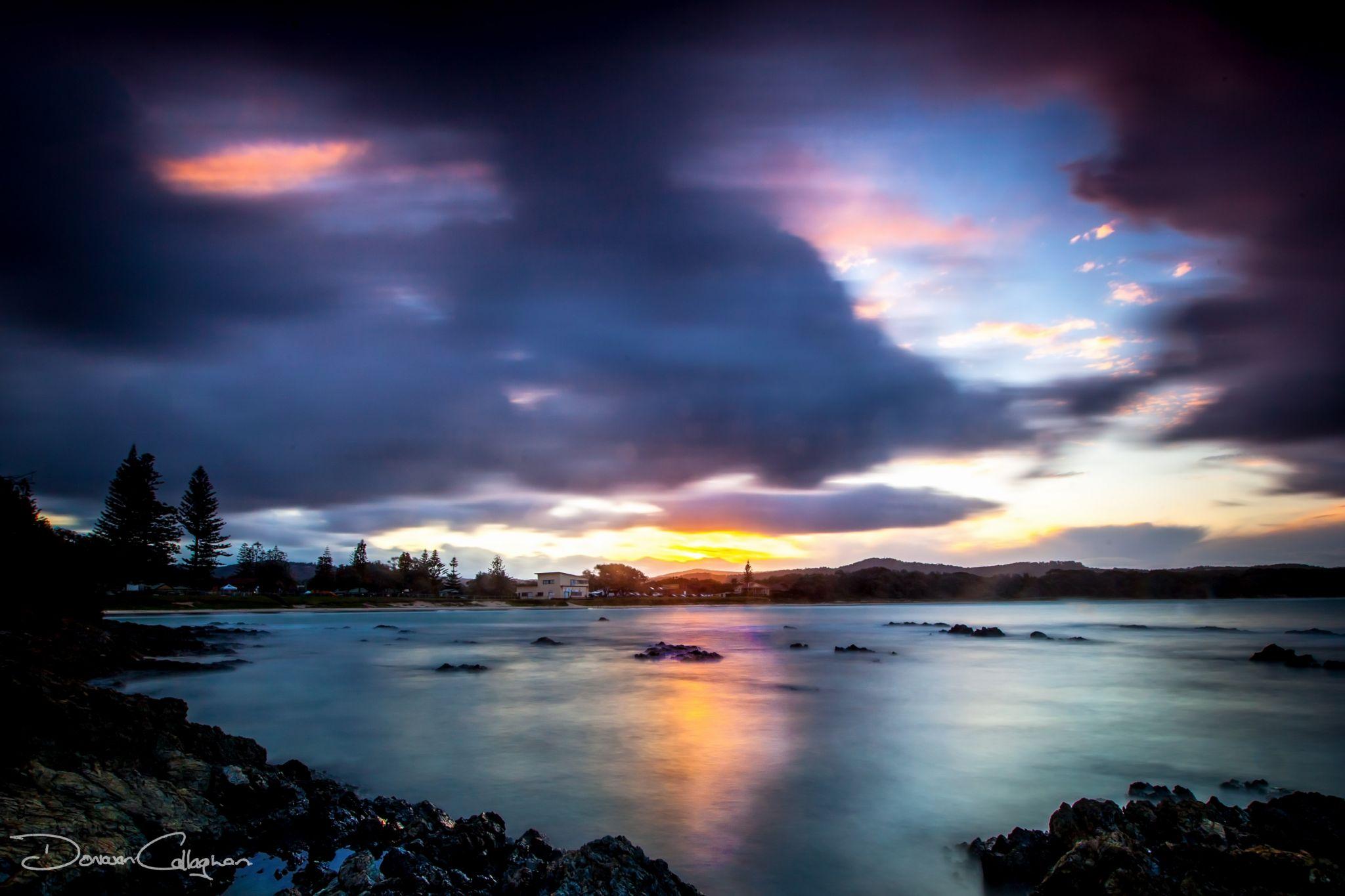 Sunset Woolgoolga North Coast New South Wales, Australia