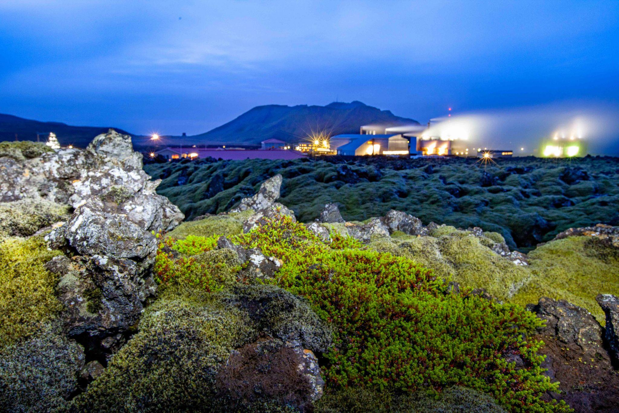 Svartsengi Geothermal Power Plant Grindavik, Iceland
