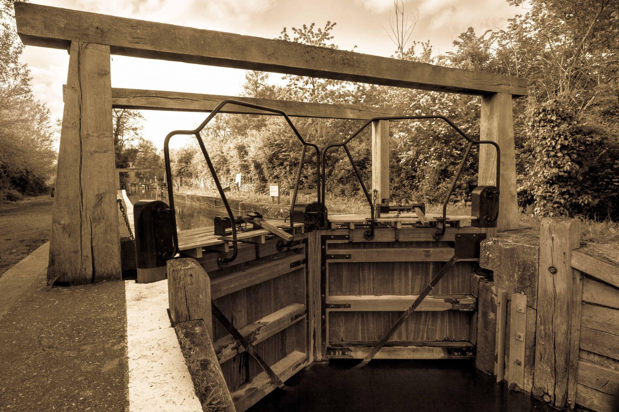 The Lock at Flatford Mill, England, United Kingdom