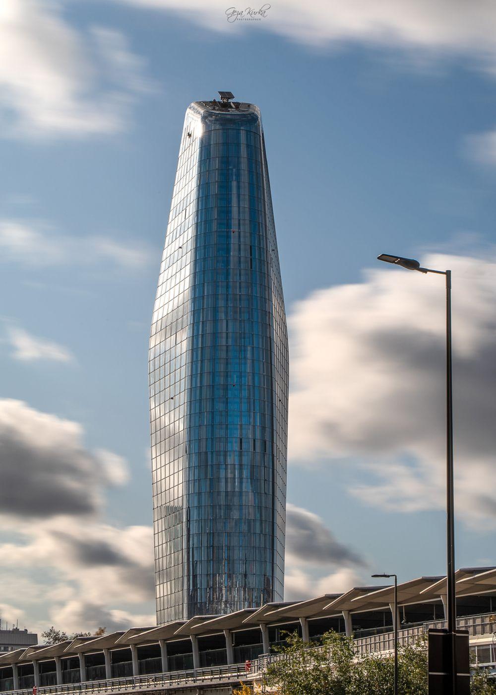 The One Blackfriars skyscraper in London City, United Kingdom