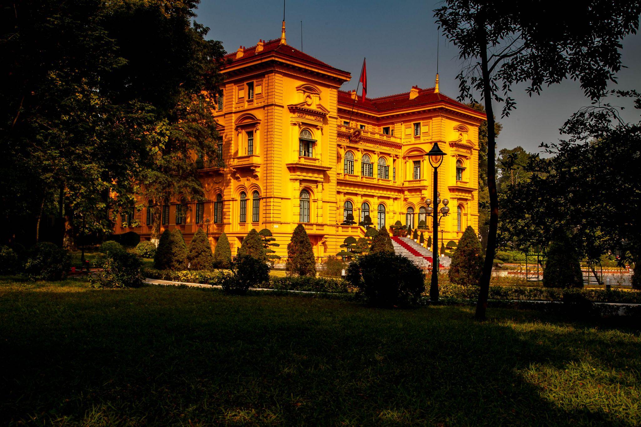 The Presidential Palace of Vietnam Hanoi, Vietnam