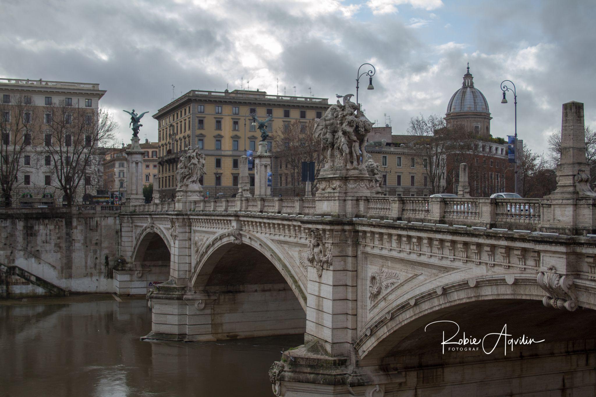 Tiber river, Italy
