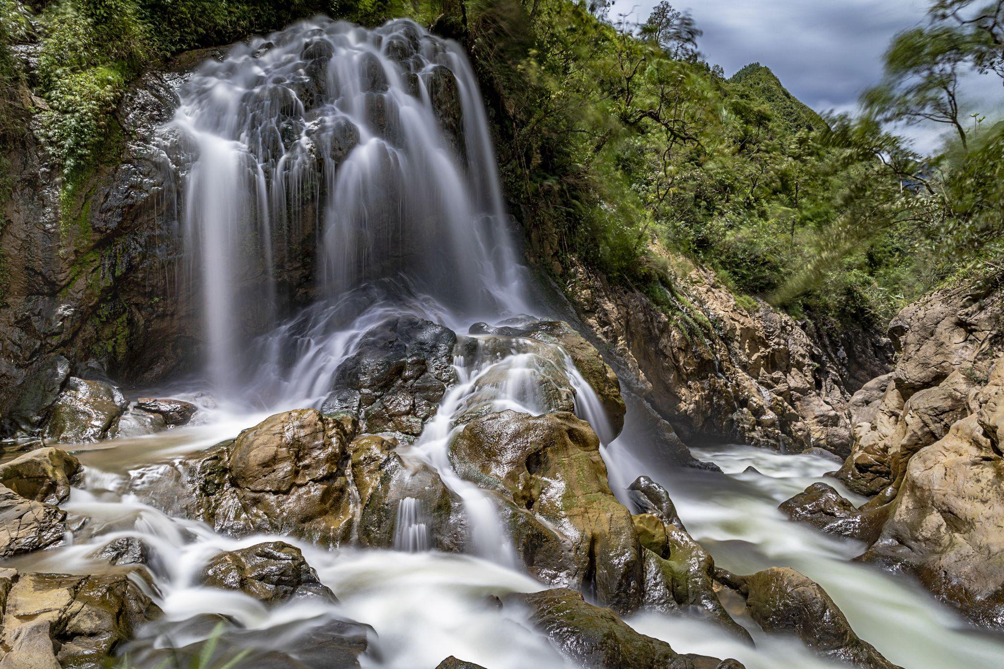 Tien Sa Waterfall, Vietnam