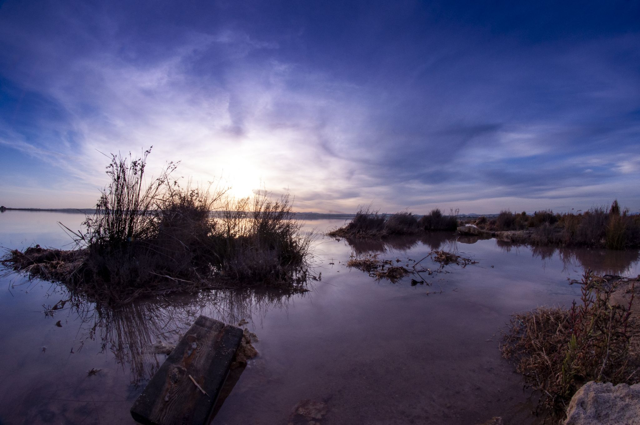 Torrevieja Salt Lakes, Spain