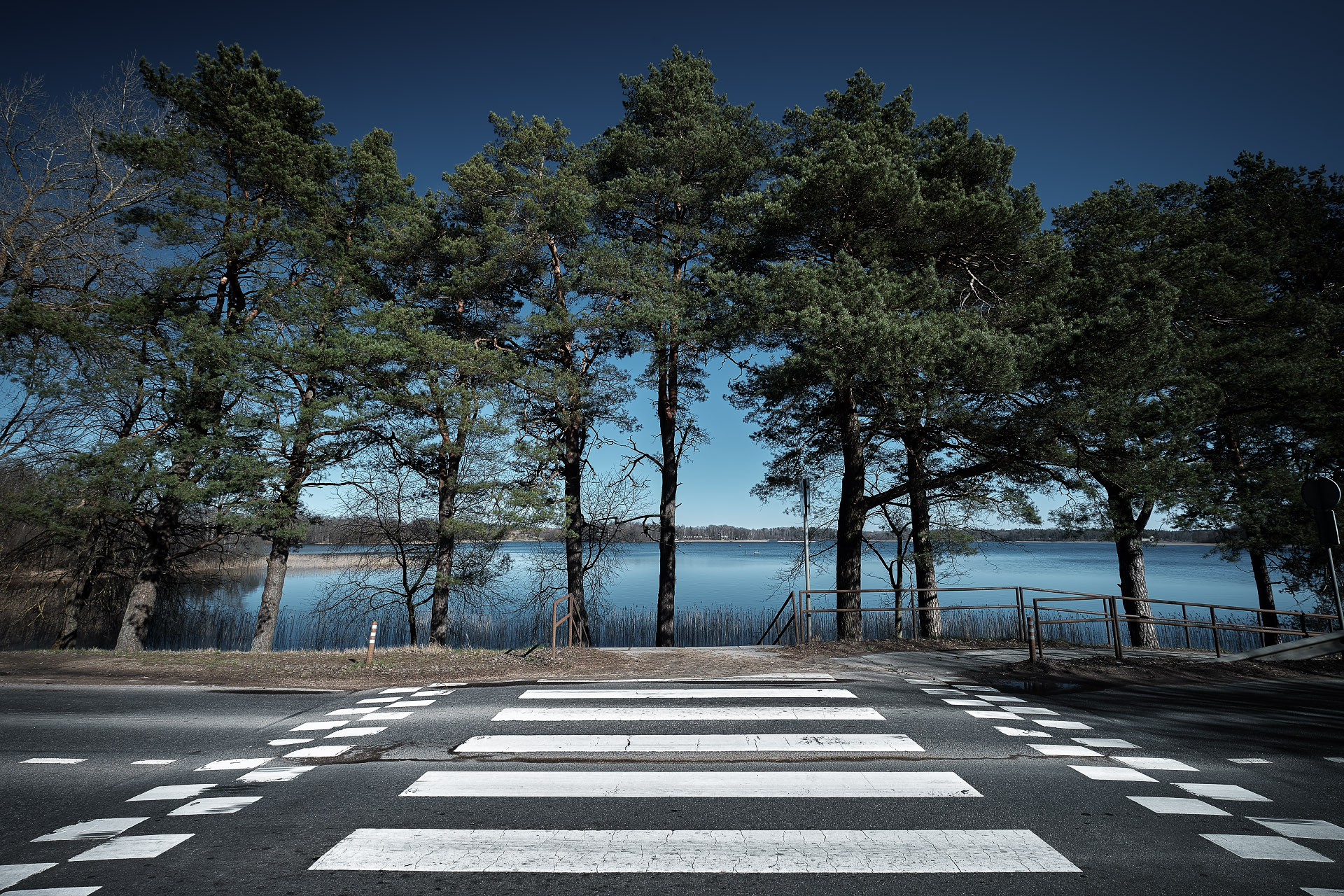 Trakai Crosswalk, Lithuania