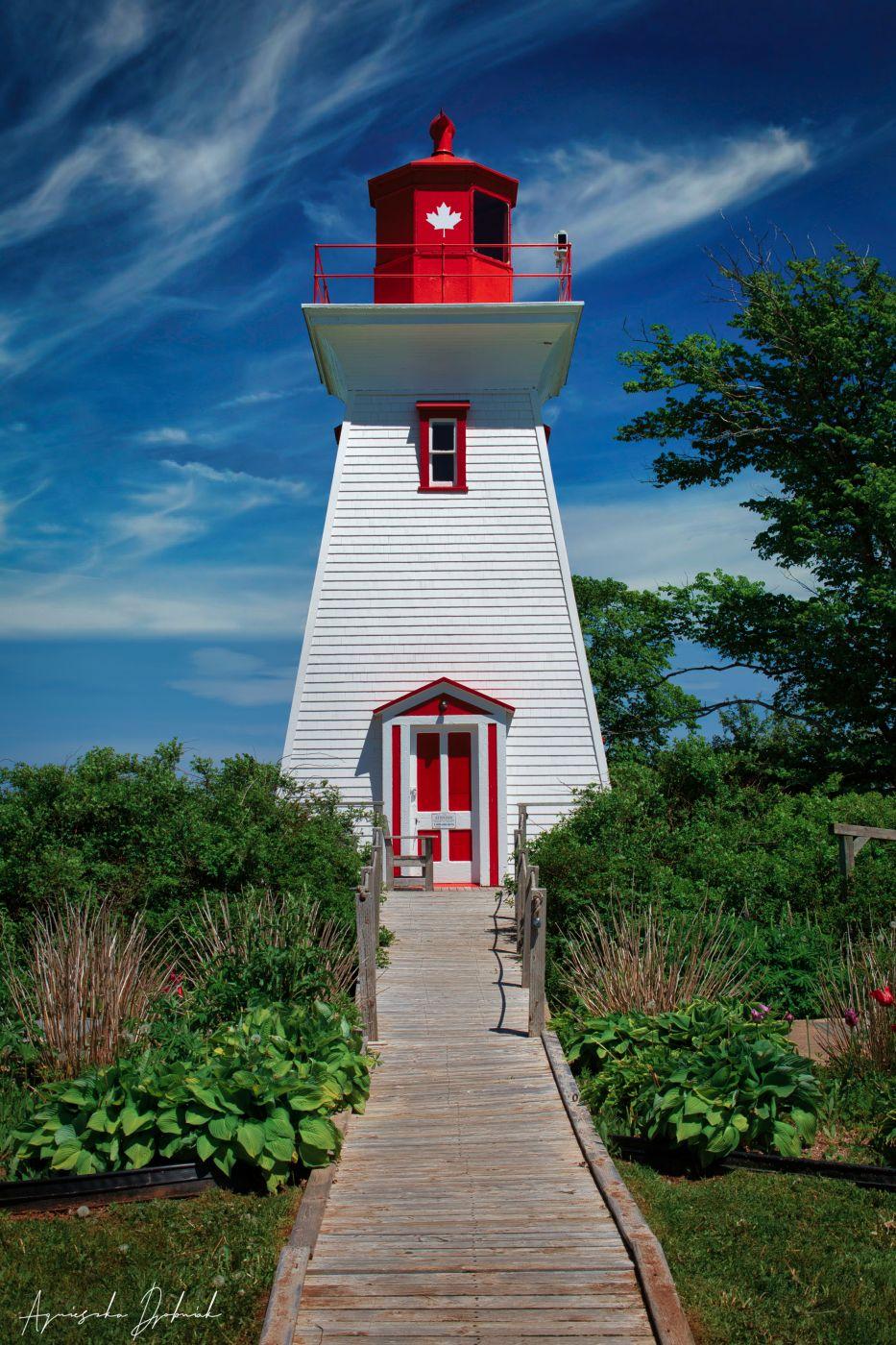 Victoria Beach Lighthouse, Canada