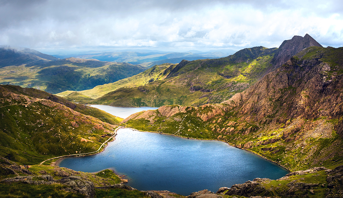 View from Mount Snowdon, United Kingdom