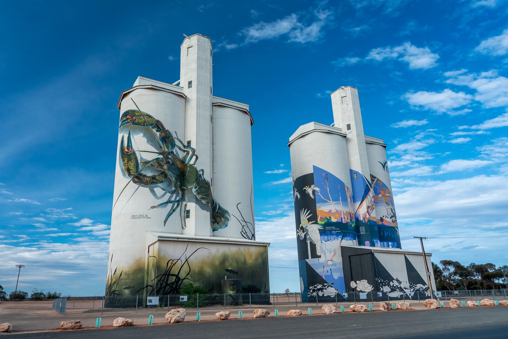 Waikerie Silo Art, Australia