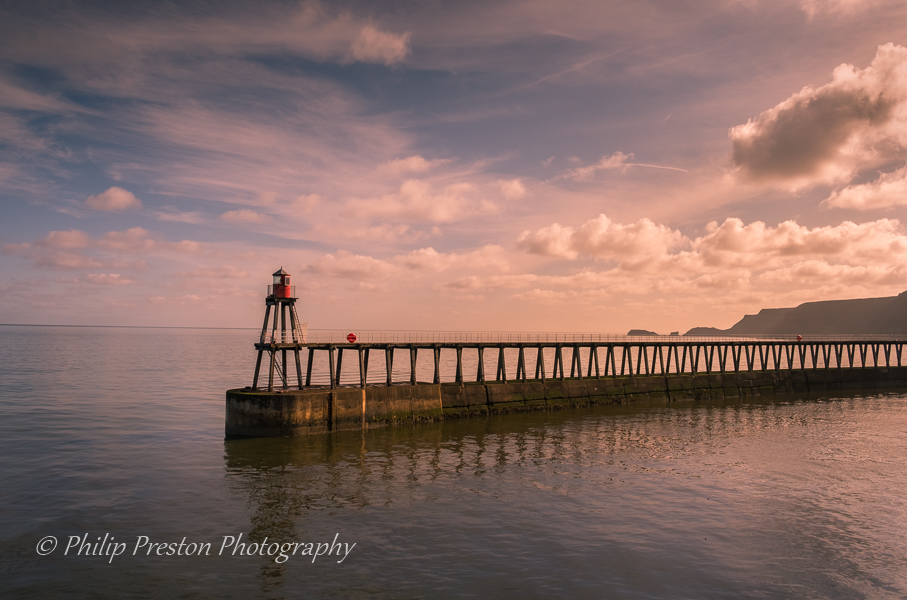 Whitby Harbour Pier, United Kingdom
