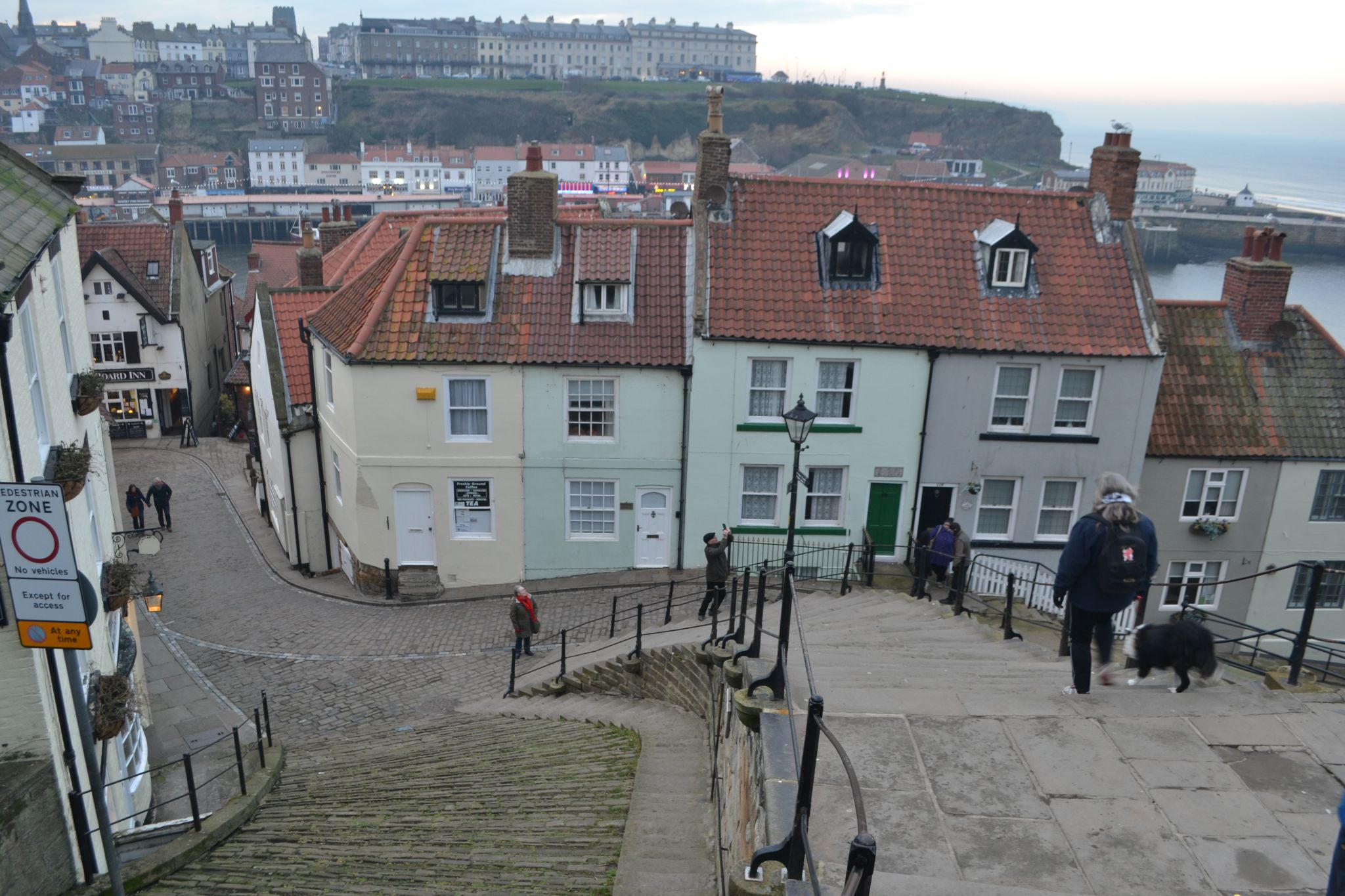 199 Steps from Whitby Abbey, United Kingdom