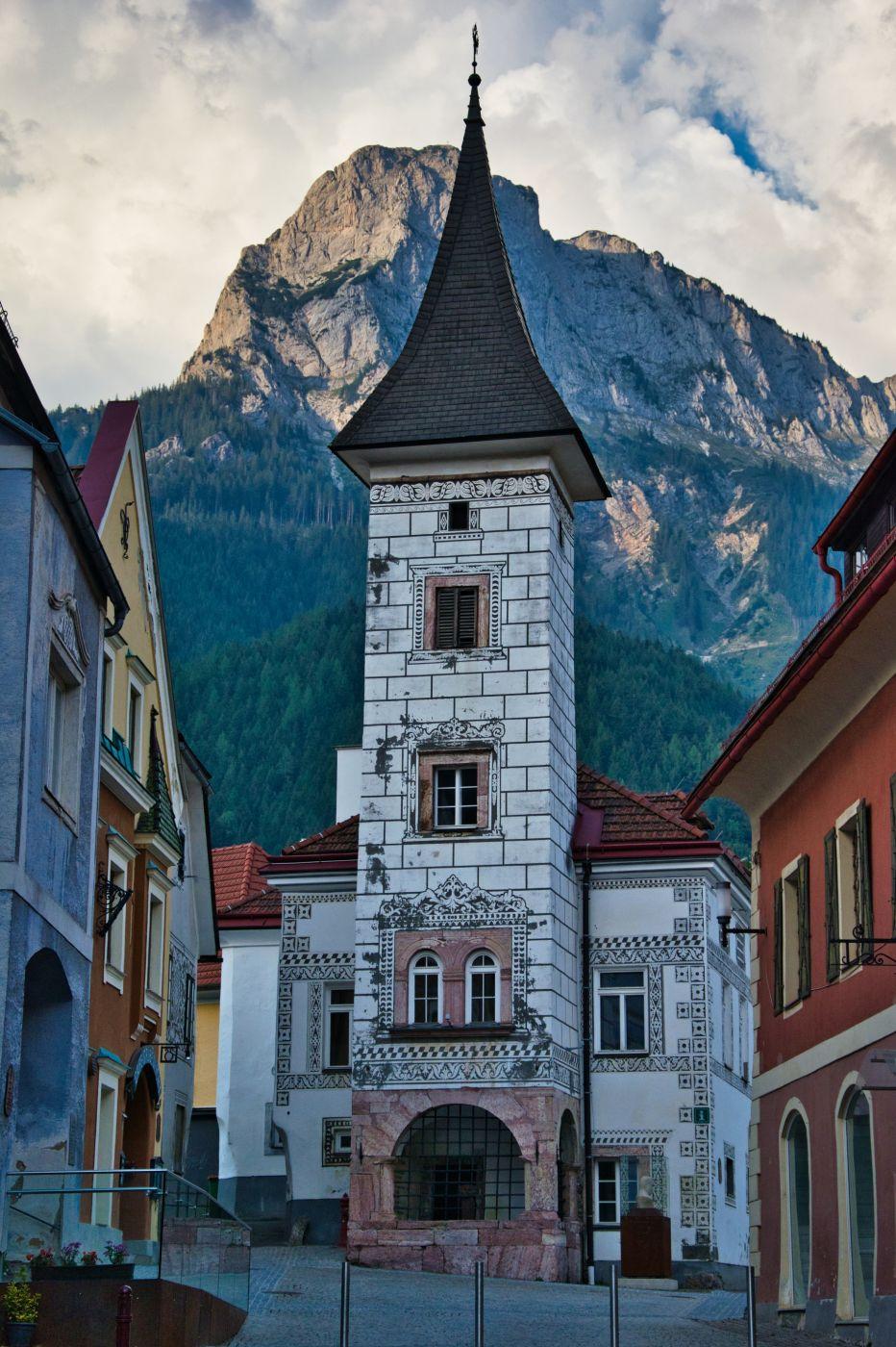Altes Rathaus in Eisenerz, Austria