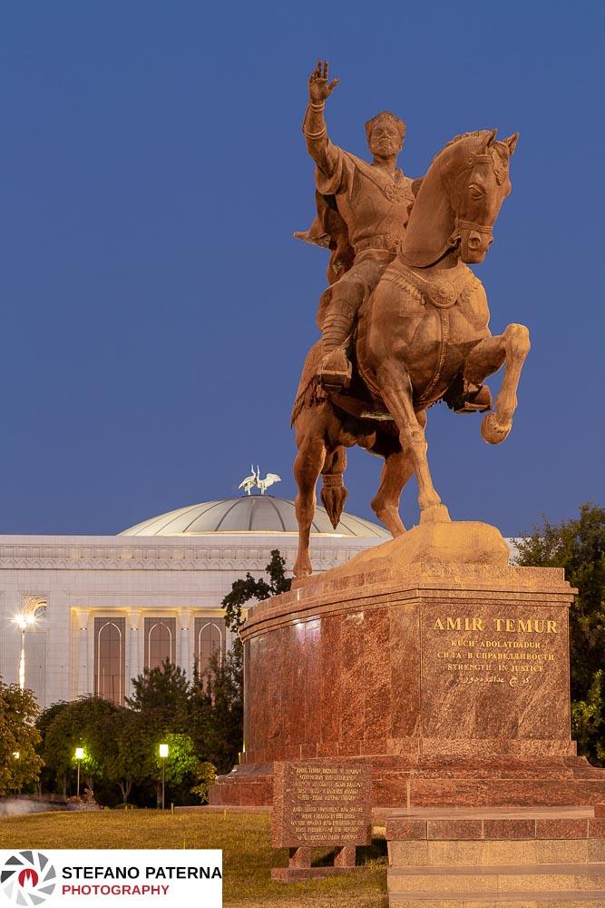 Amir Timur Reiterstatue, Amir Timur Platz, Taschkent, Uzbekistan