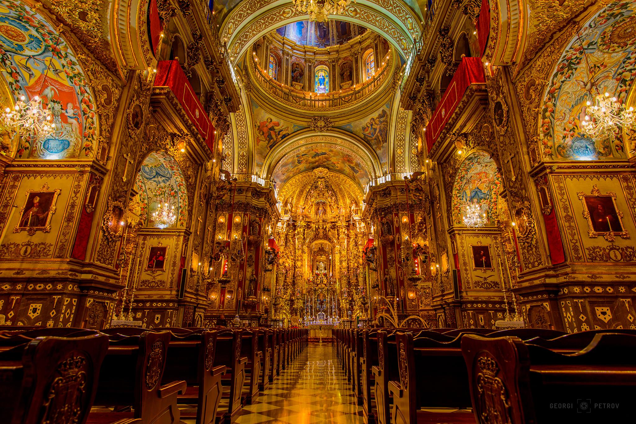 Basilica de San Juan de Dios, Spain