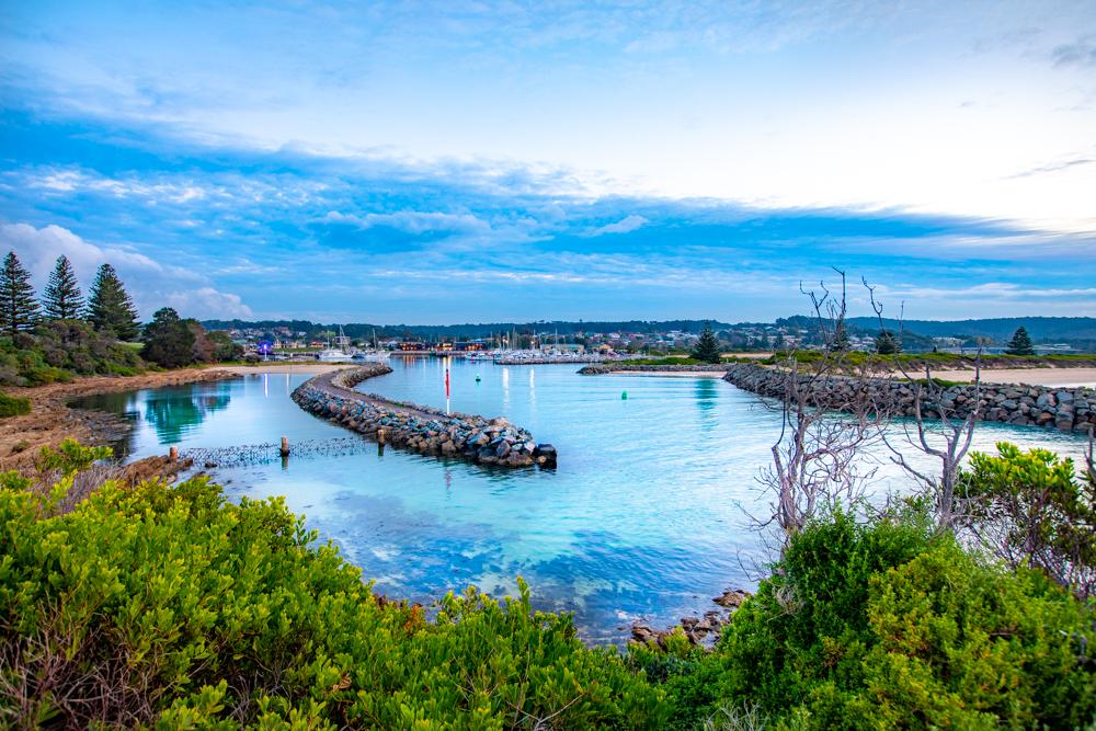 Bermagui  Wharf & Breakwater, New South Wales, Australia