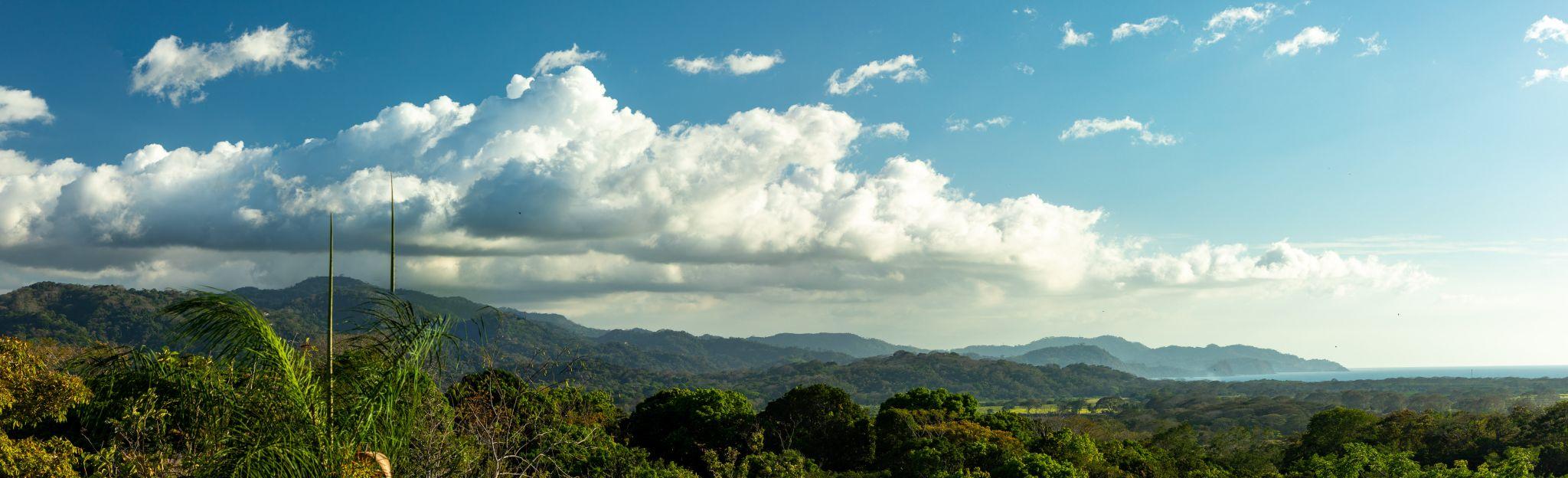 Blick auf dem pazifischen Ozean in Costa Rica, Costa Rica