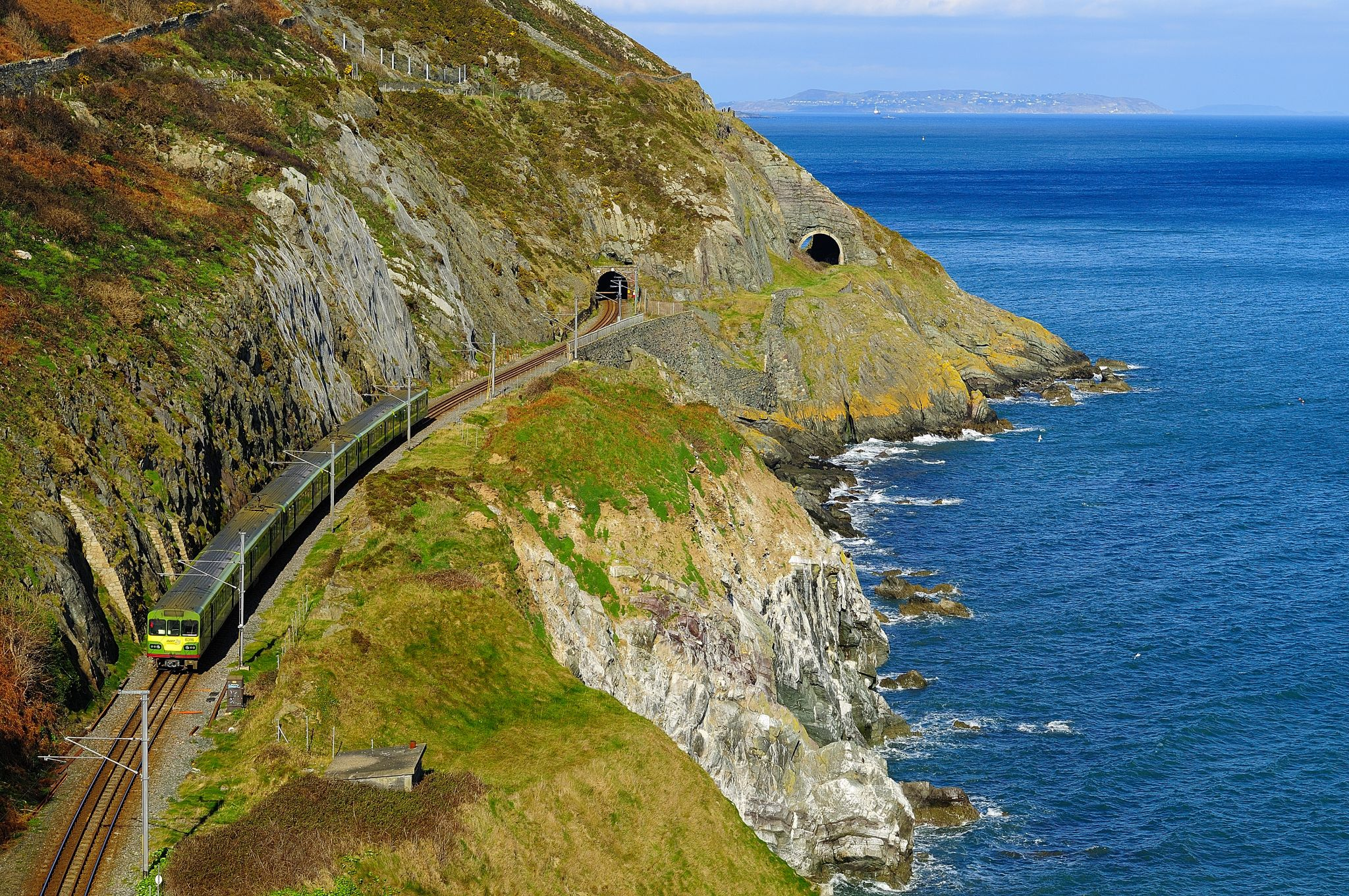 Bray Greystones Cliff walk, co Wicklow, Ireland