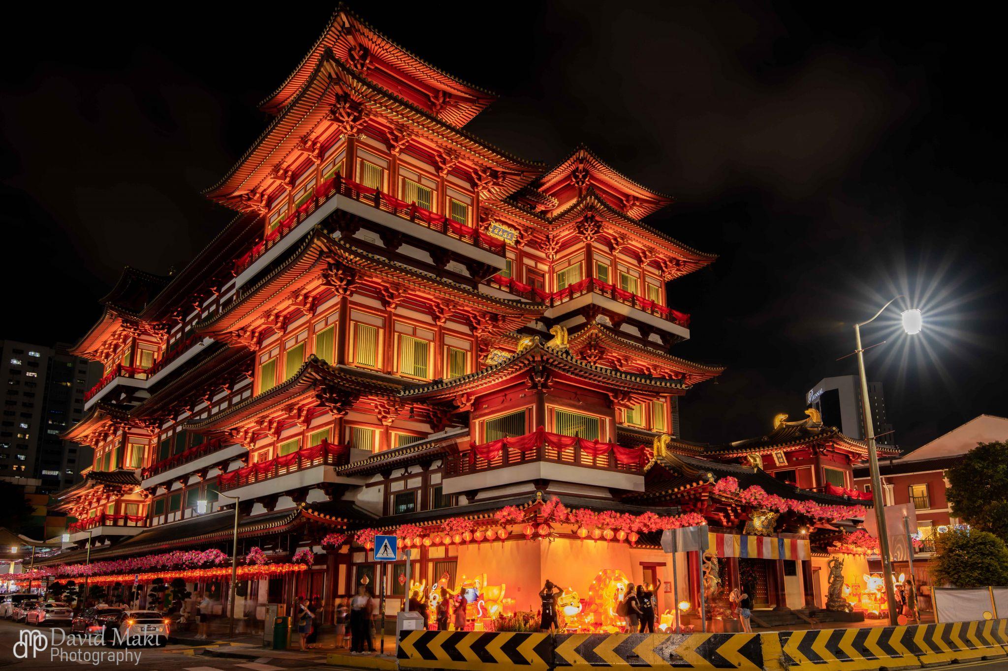 Buddha Tooth Temple, Singapore