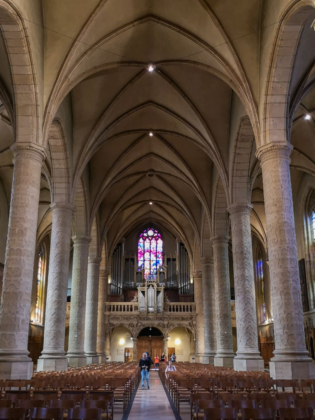 Cathedrale Notre-Dame Luxembourg, Luxembourg