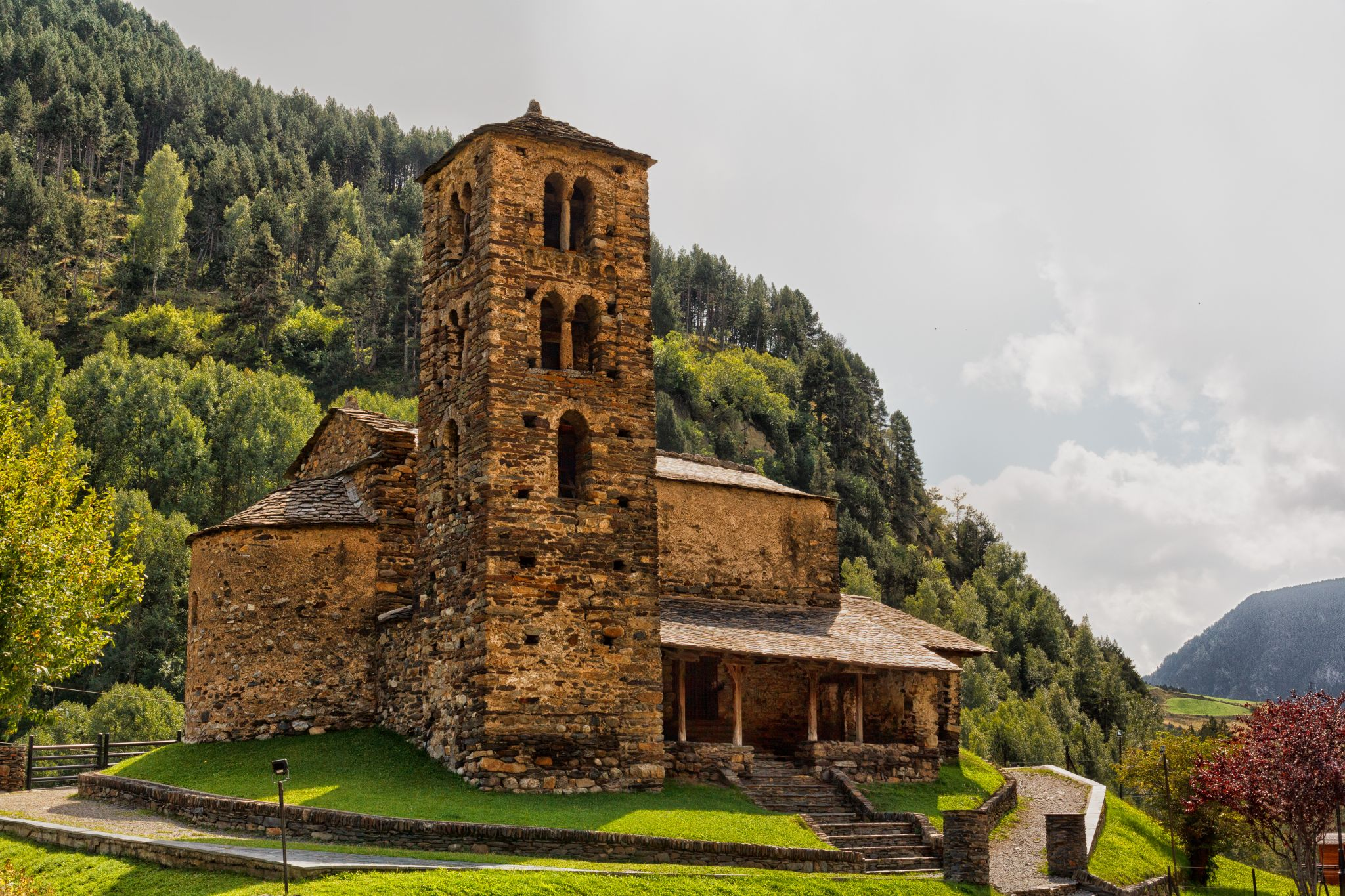 Church Sant Joan de Caselles, Andorra