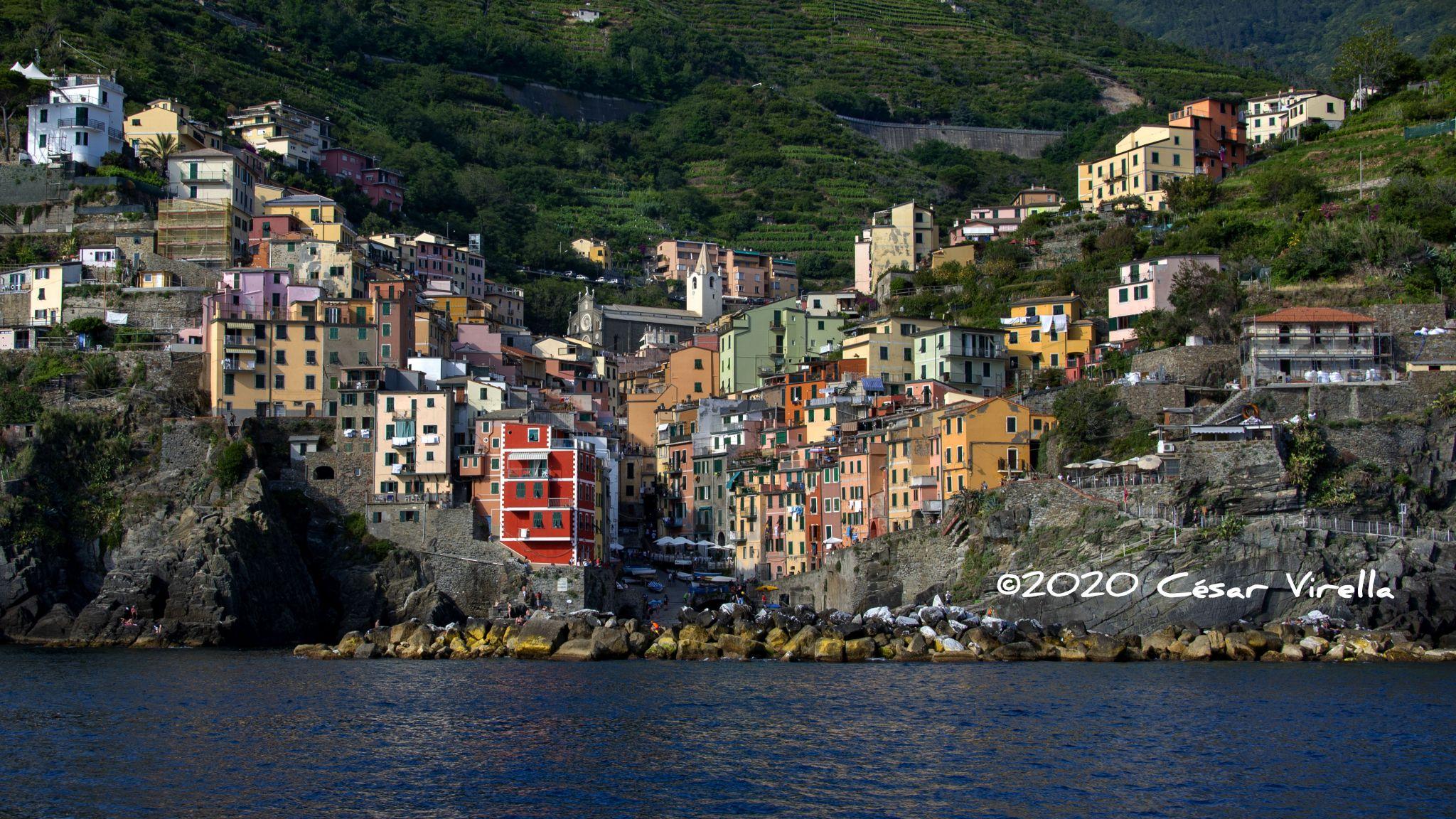 Cinque Terre by Ferry, Italy